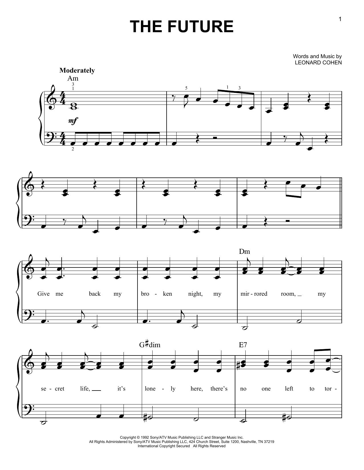 The Future (Easy Piano)