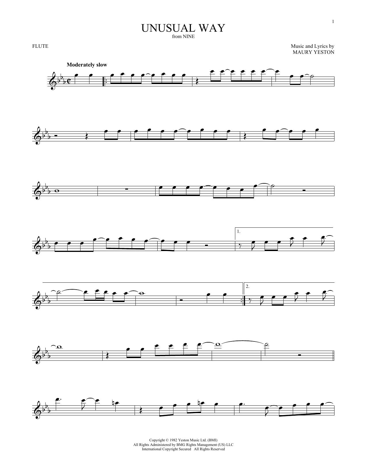 Unusual Way (Flute Solo)