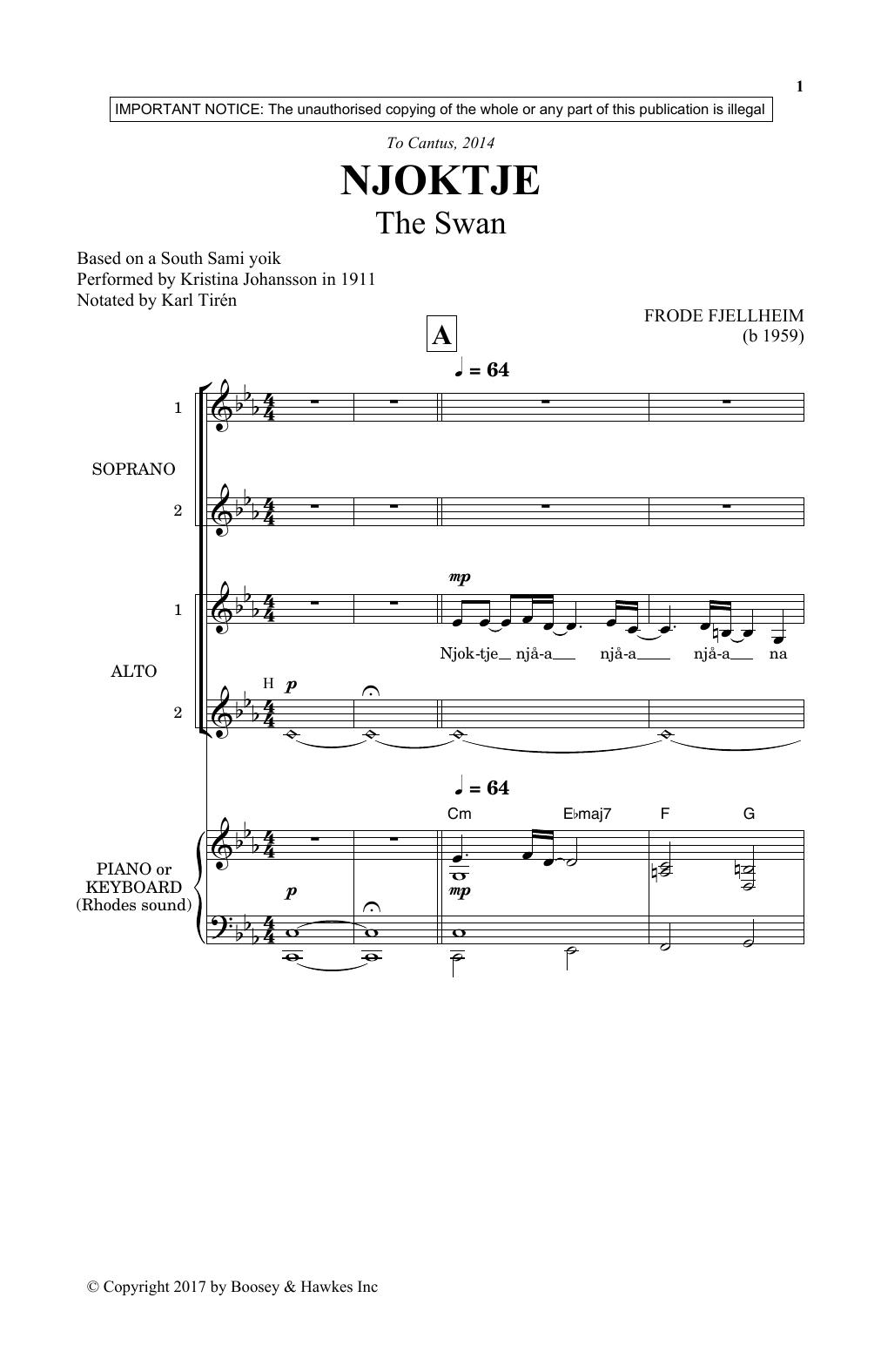 Njoktje (SSA Choir)