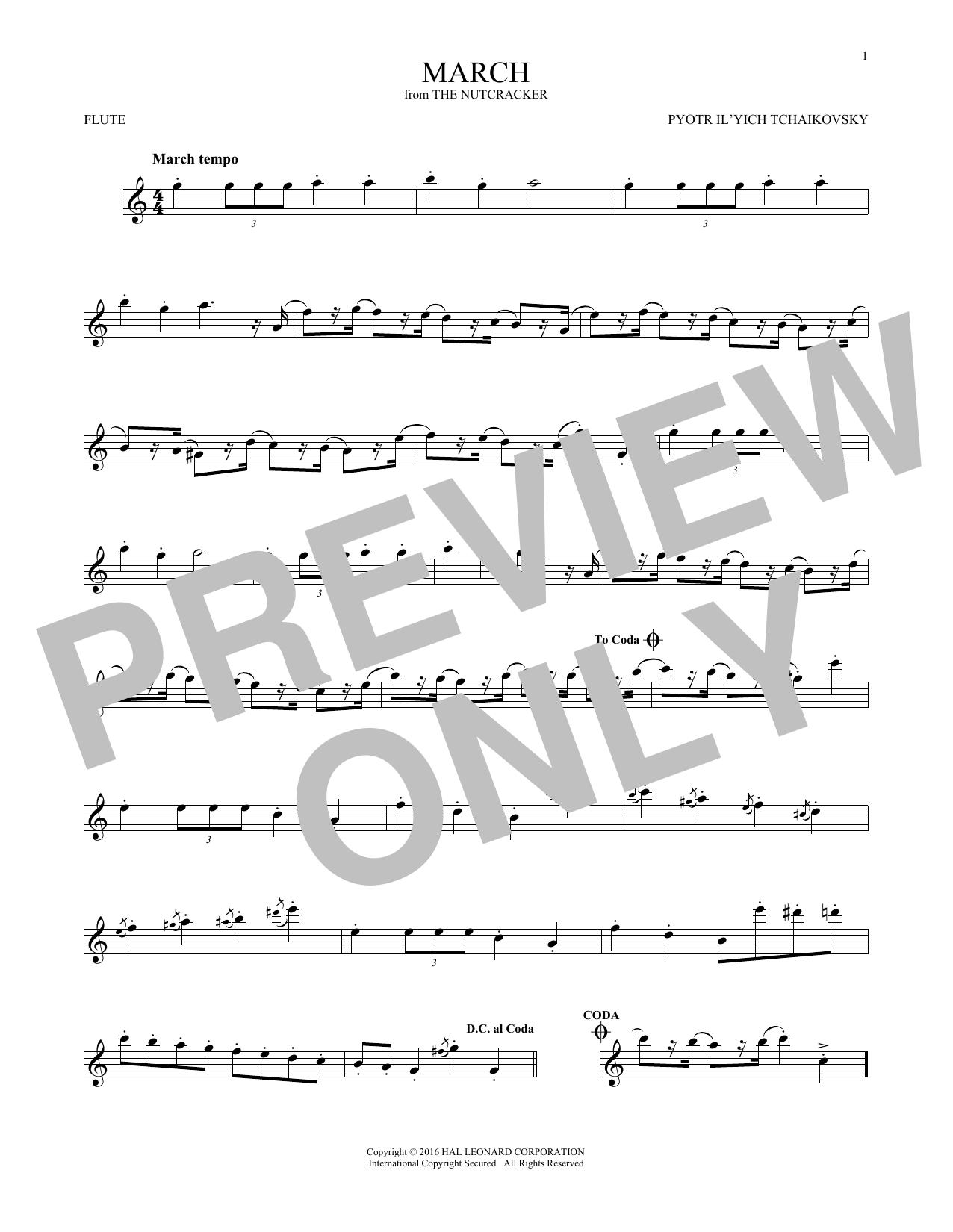 March (Flute Solo)