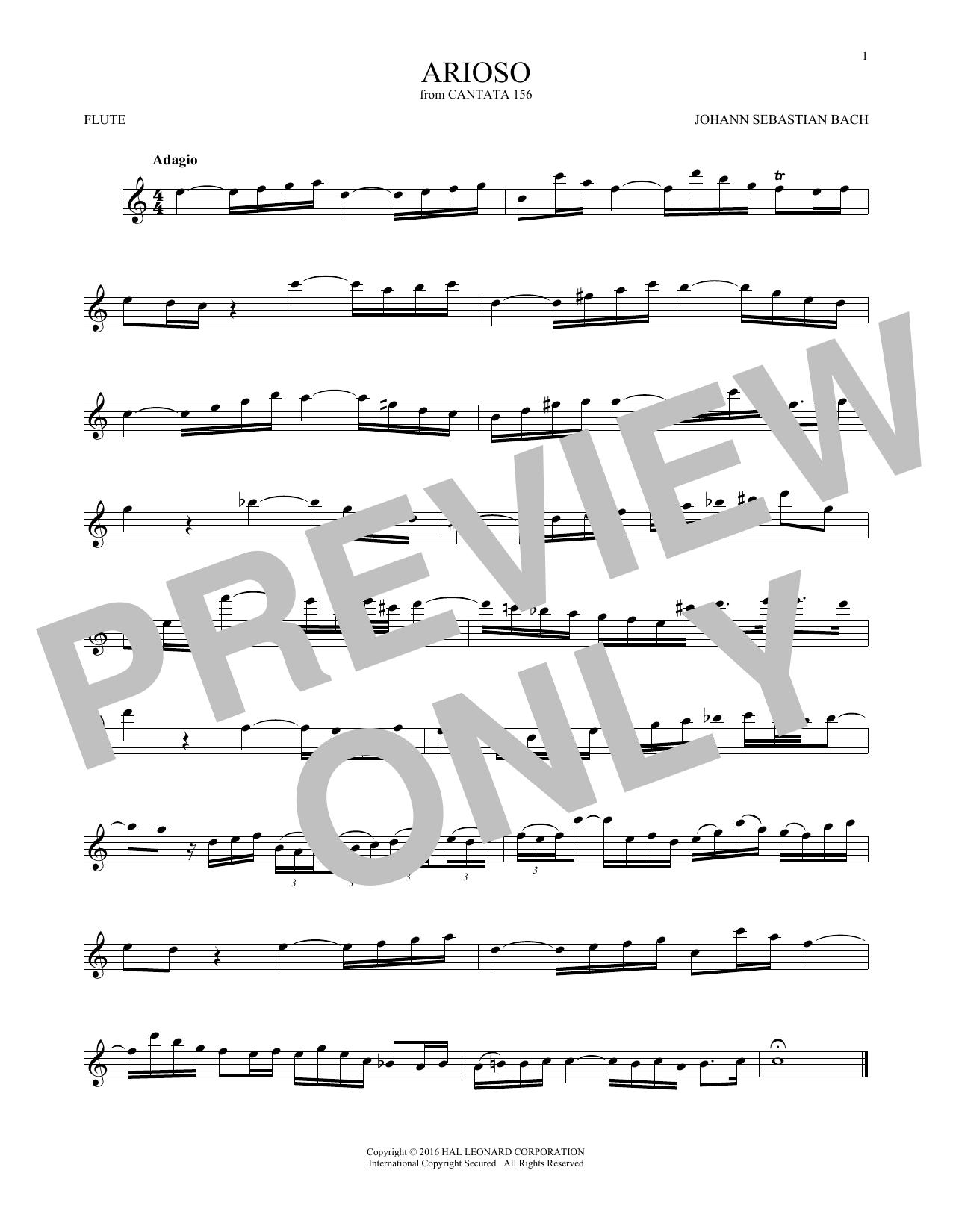 Arioso (Flute Solo)
