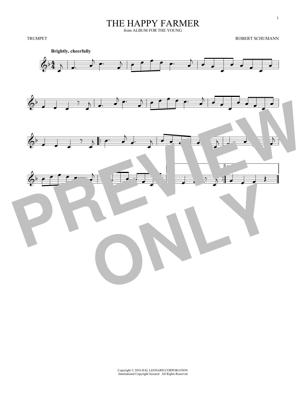 The Happy Farmer (Trumpet Solo)