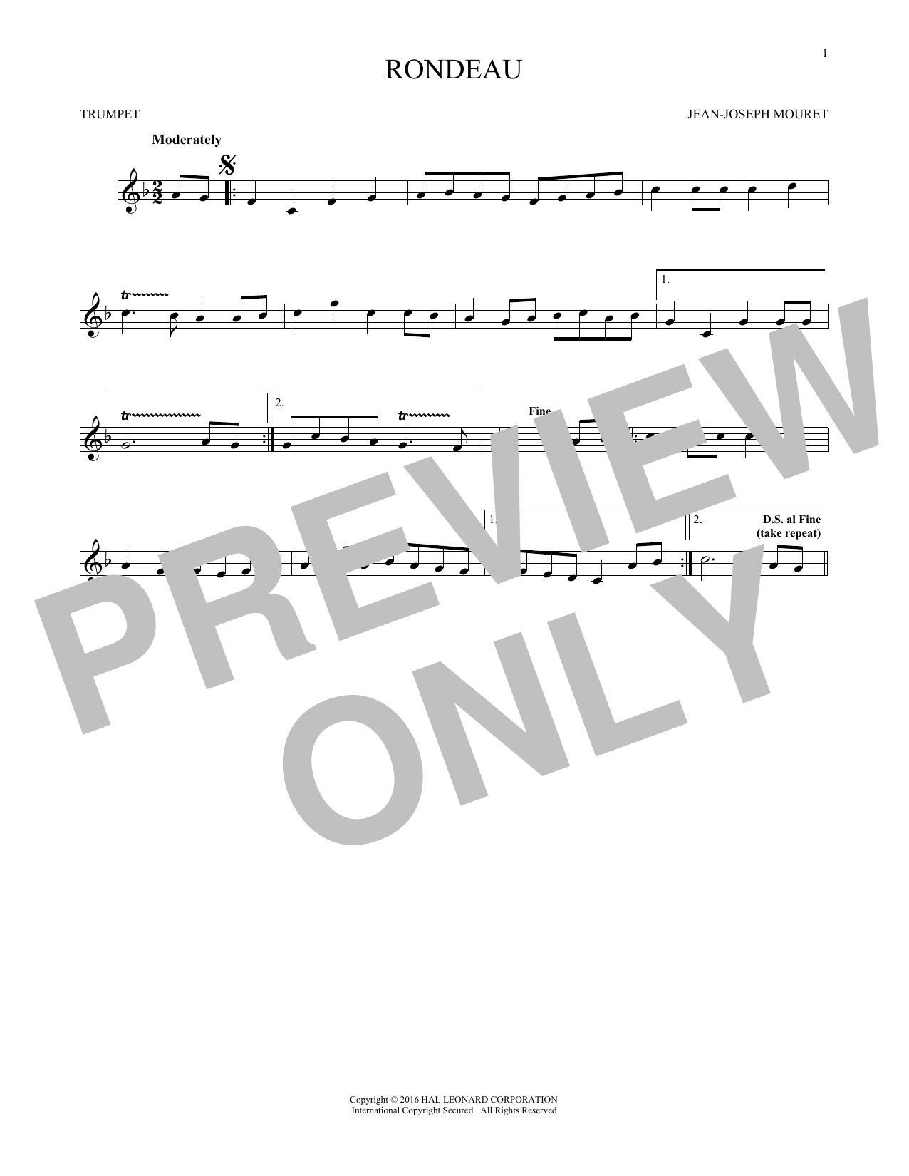 Fanfare Rondeau (Trumpet Solo)
