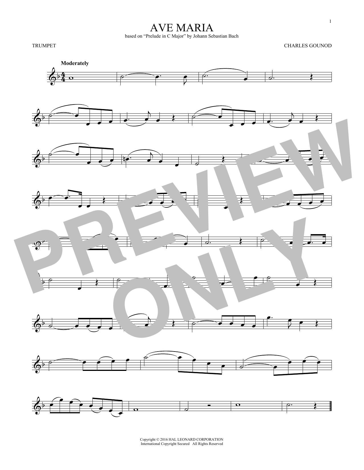 Ave Maria (Trumpet Solo)