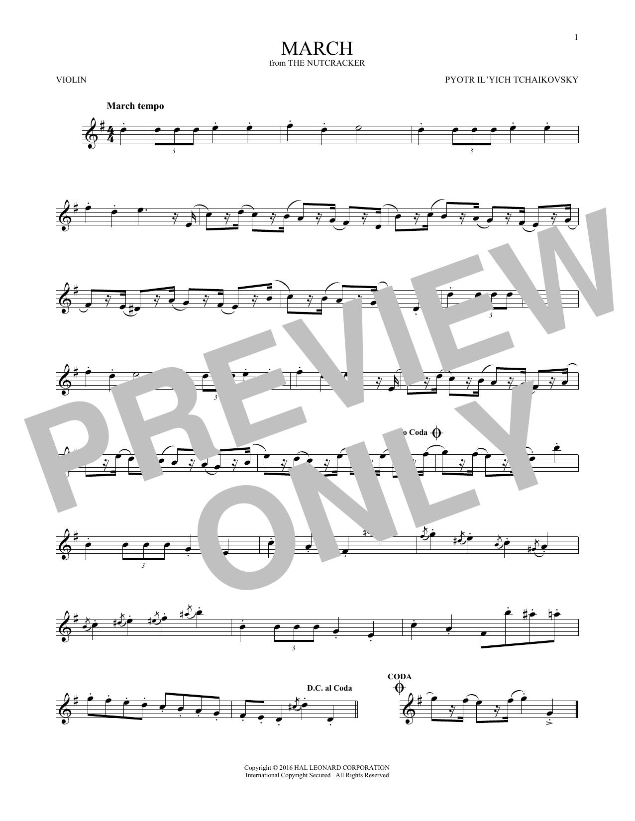March (Violin Solo)
