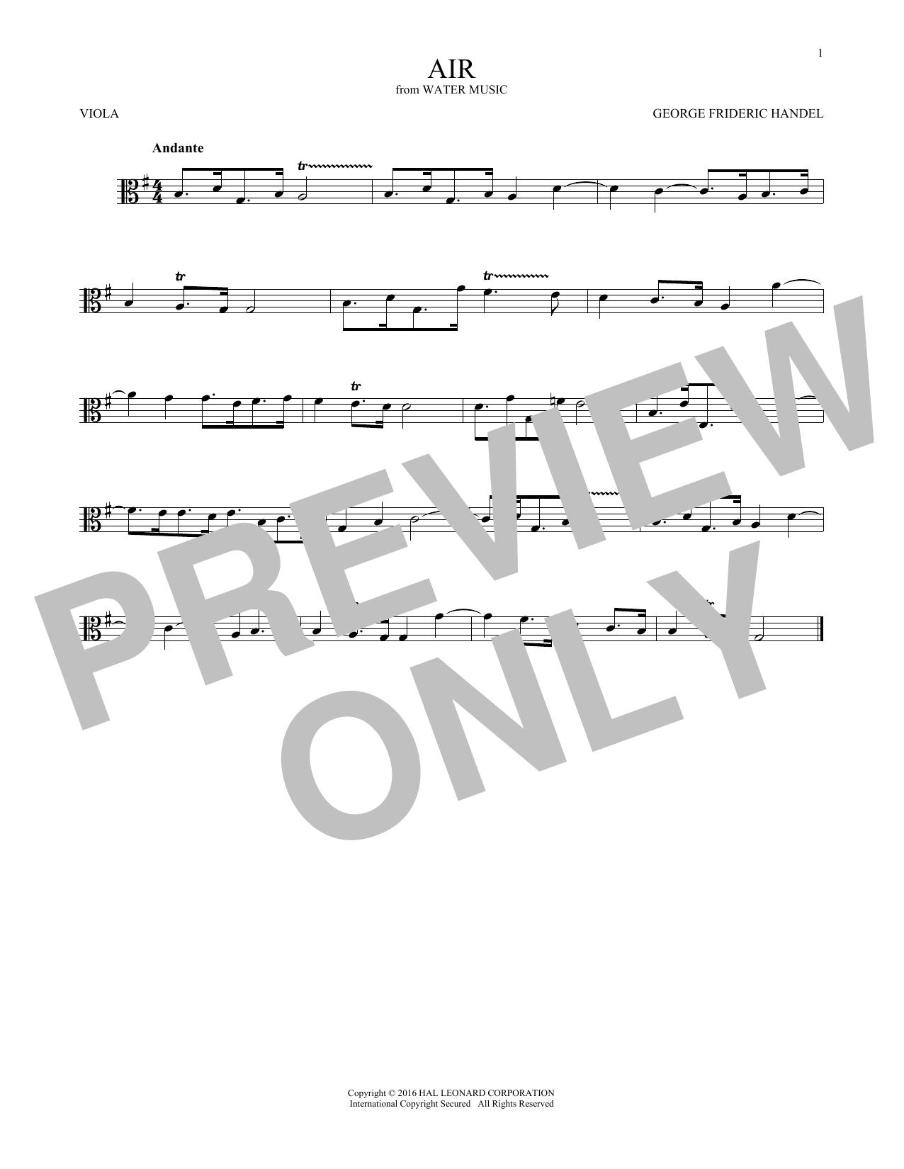 Air (Viola Solo)
