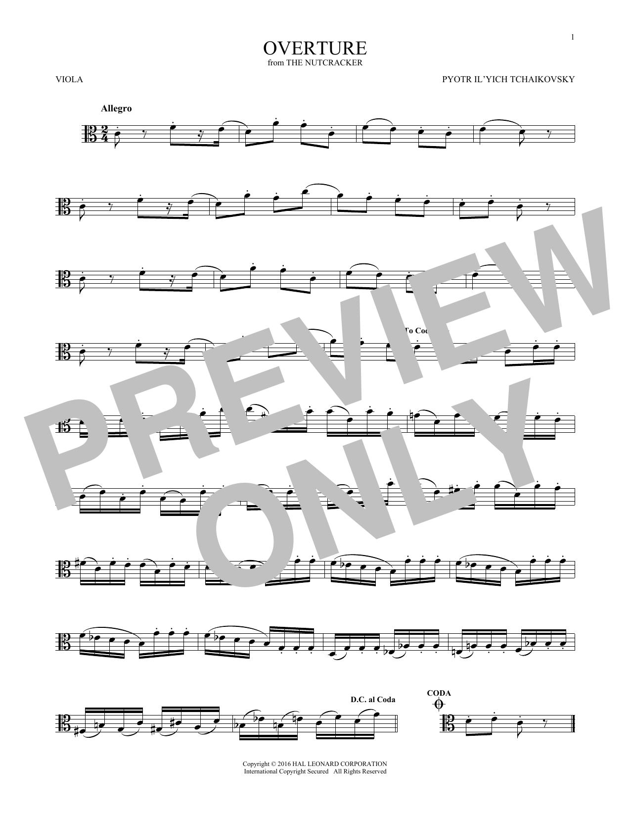 Overture (Viola Solo)