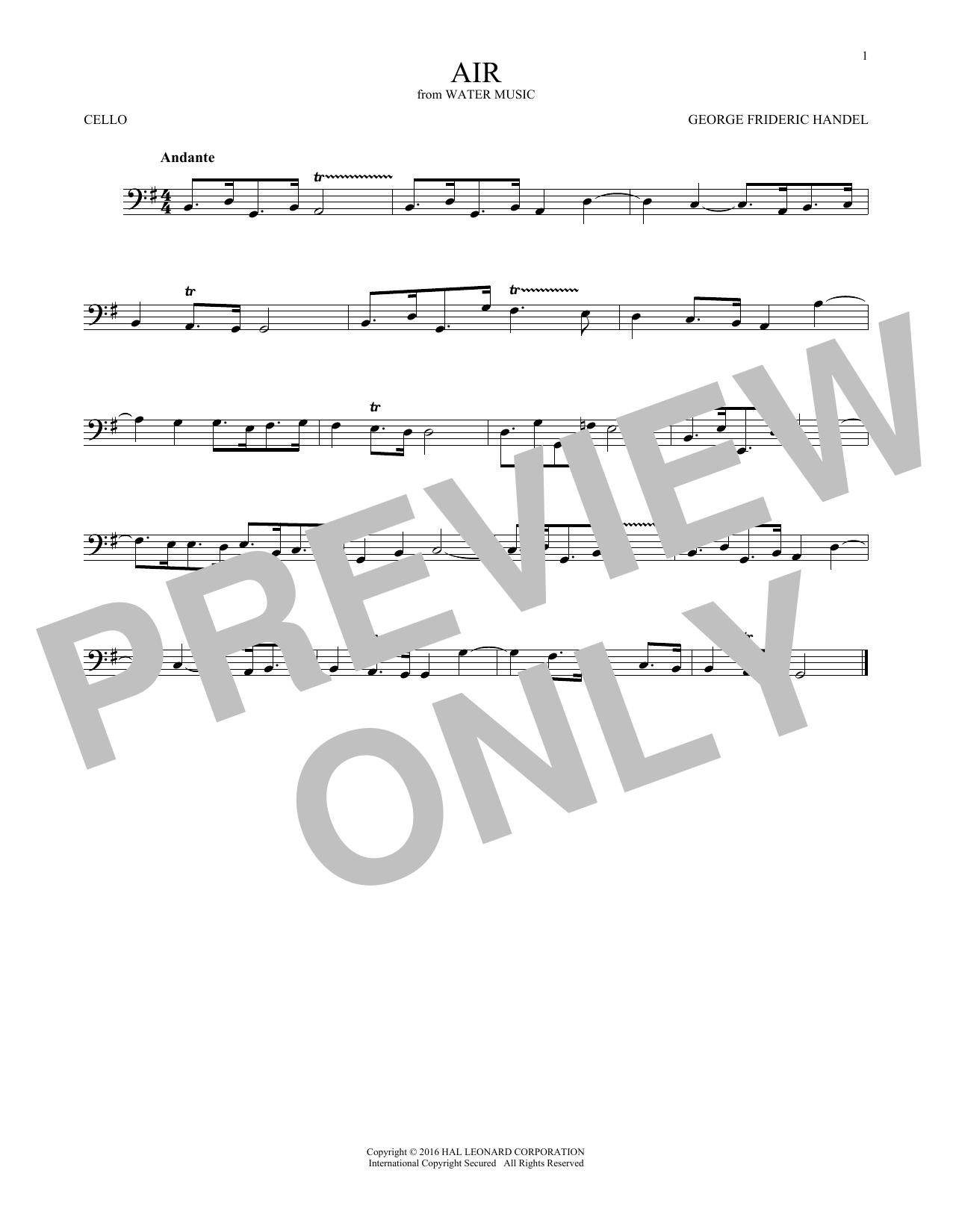 Air (Cello Solo)