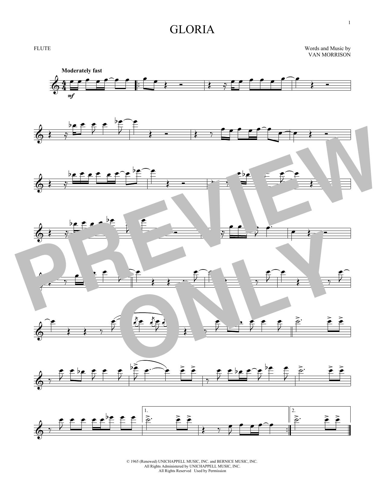 Gloria (Flute Solo)