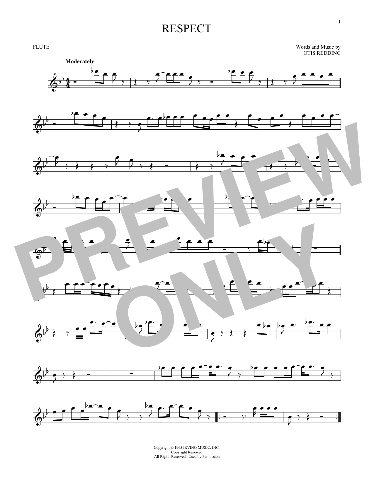 Respect (Flute Solo)