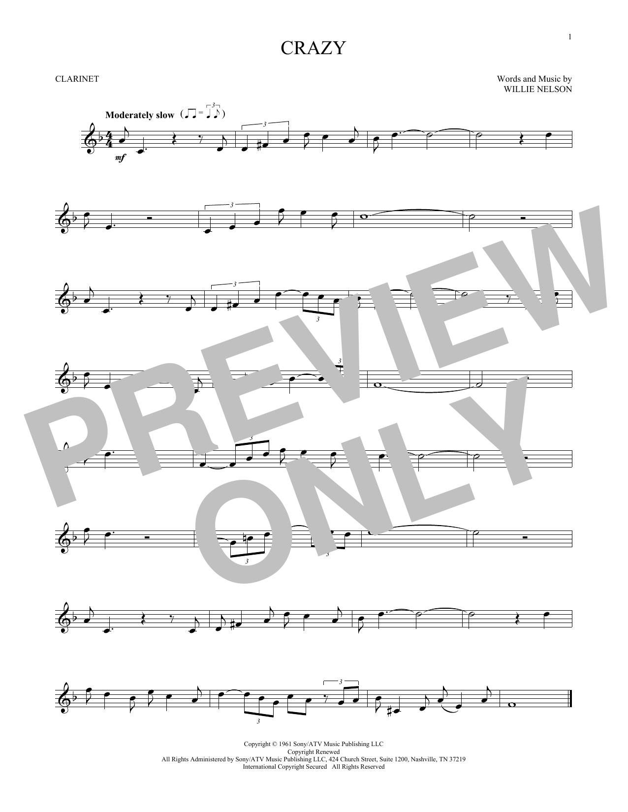 Crazy (Clarinet Solo)