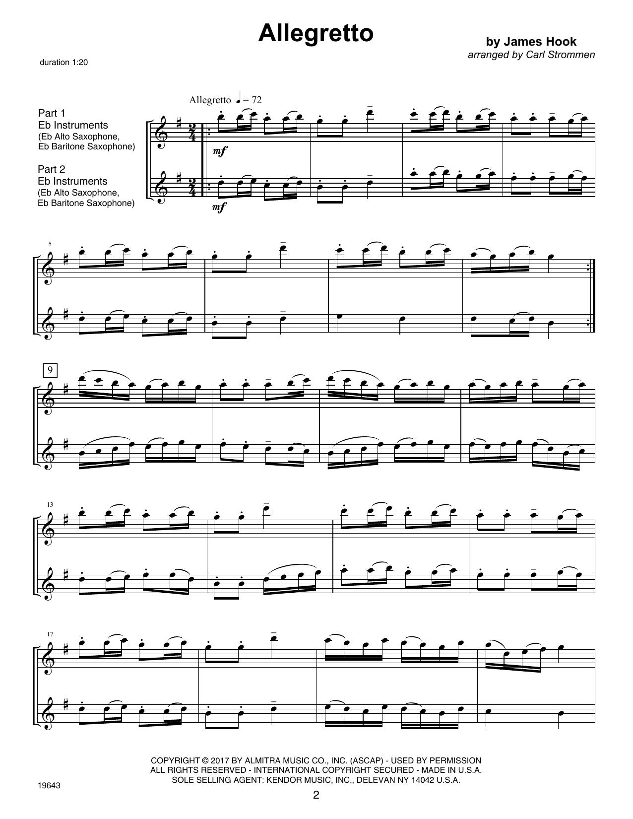 Second Year FlexDuets - Eb Instruments Sheet Music