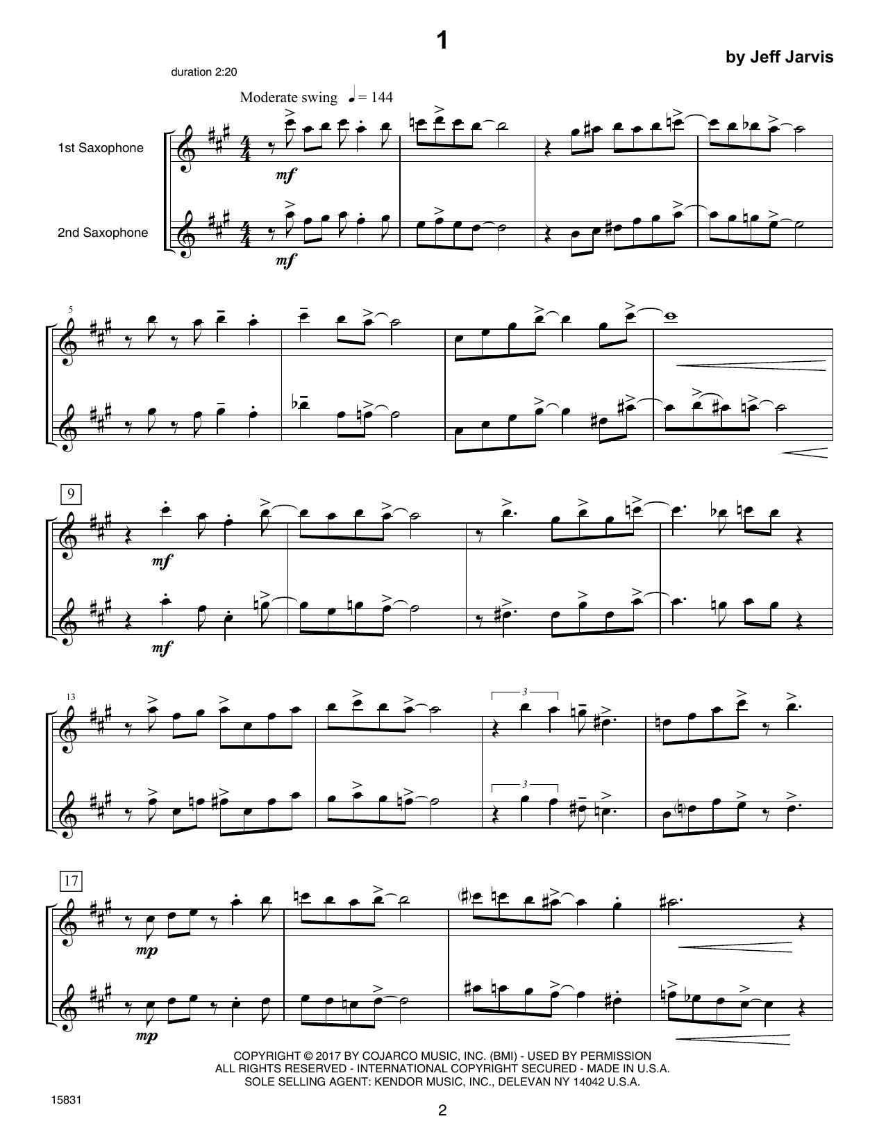 Ten Jazz Duets Sheet Music