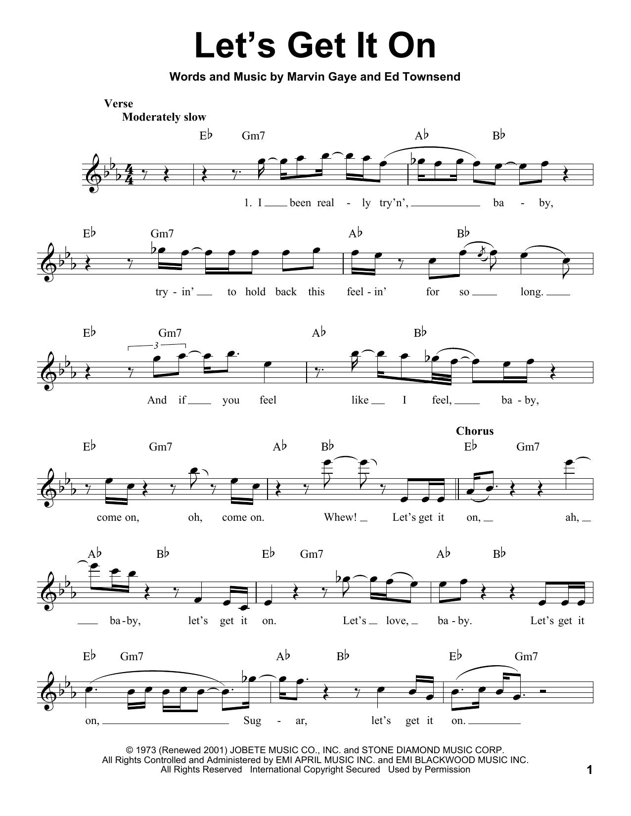 Let's Get It On (Pro Vocal)