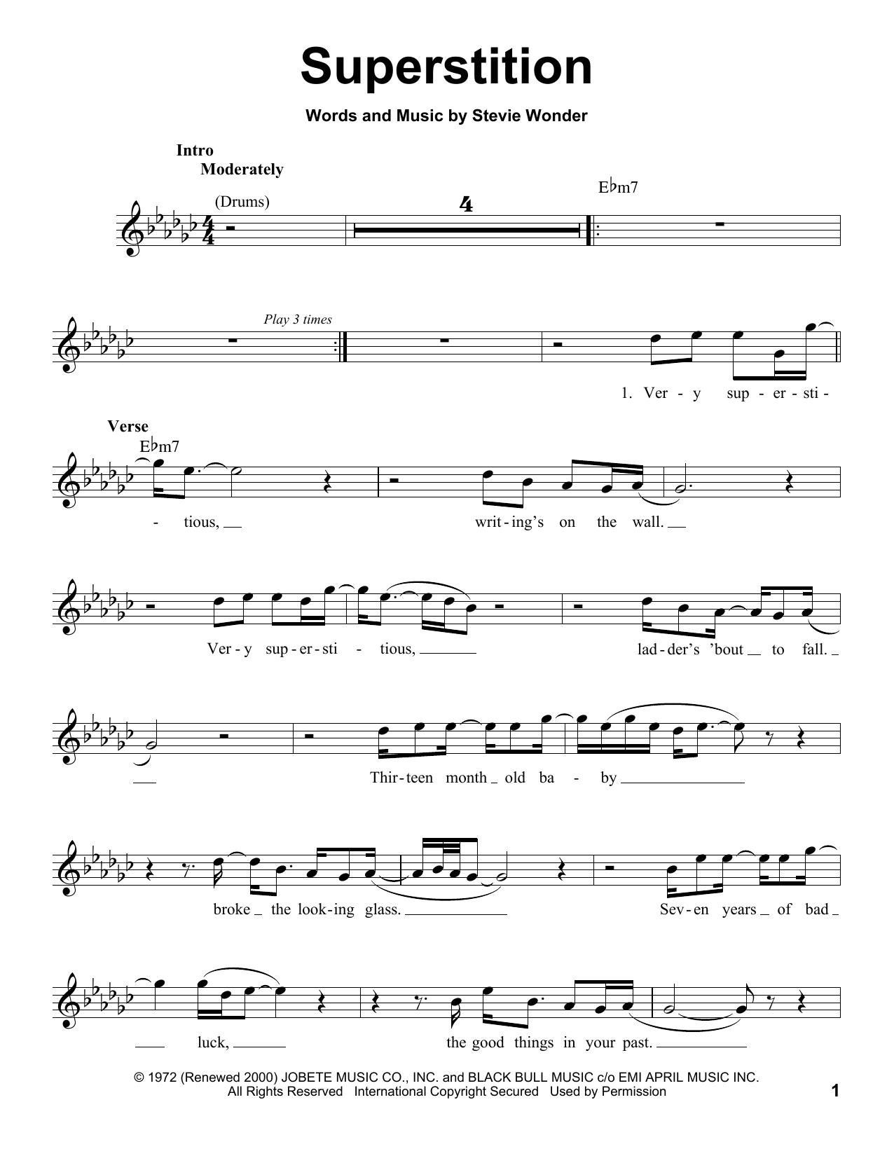 Superstition (Pro Vocal)