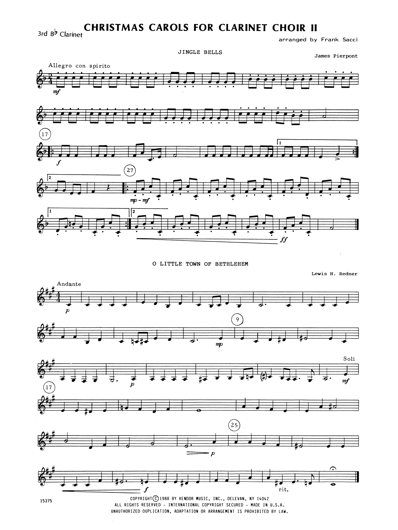 Christmas Clarinet Sheet Music Antaexpocoaching