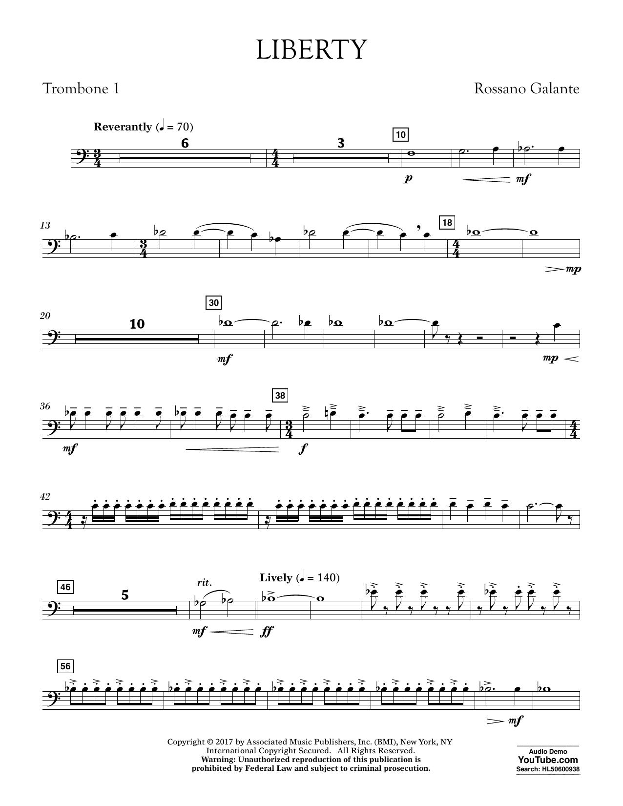 Liberty - Trombone 1 (Concert Band)