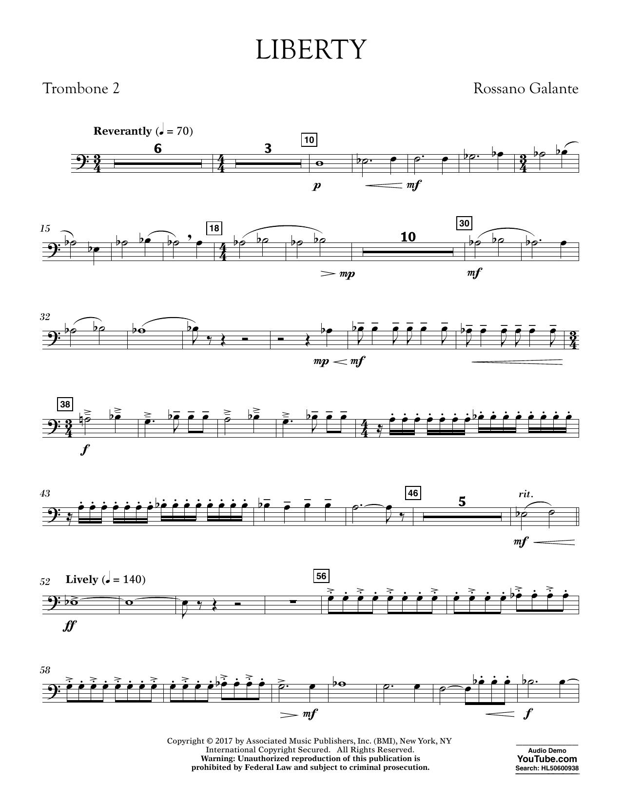 Liberty - Trombone 2 (Concert Band)