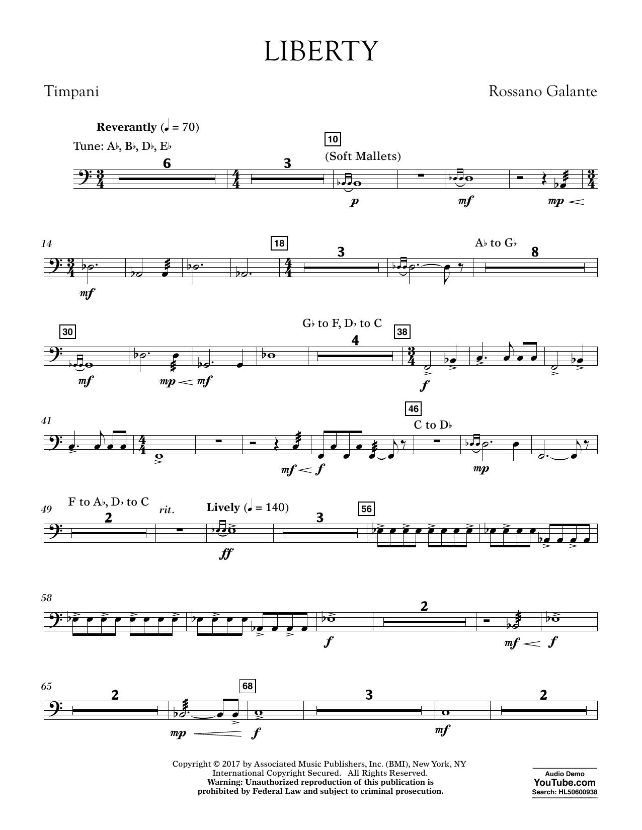 Liberty - Timpani (Concert Band)