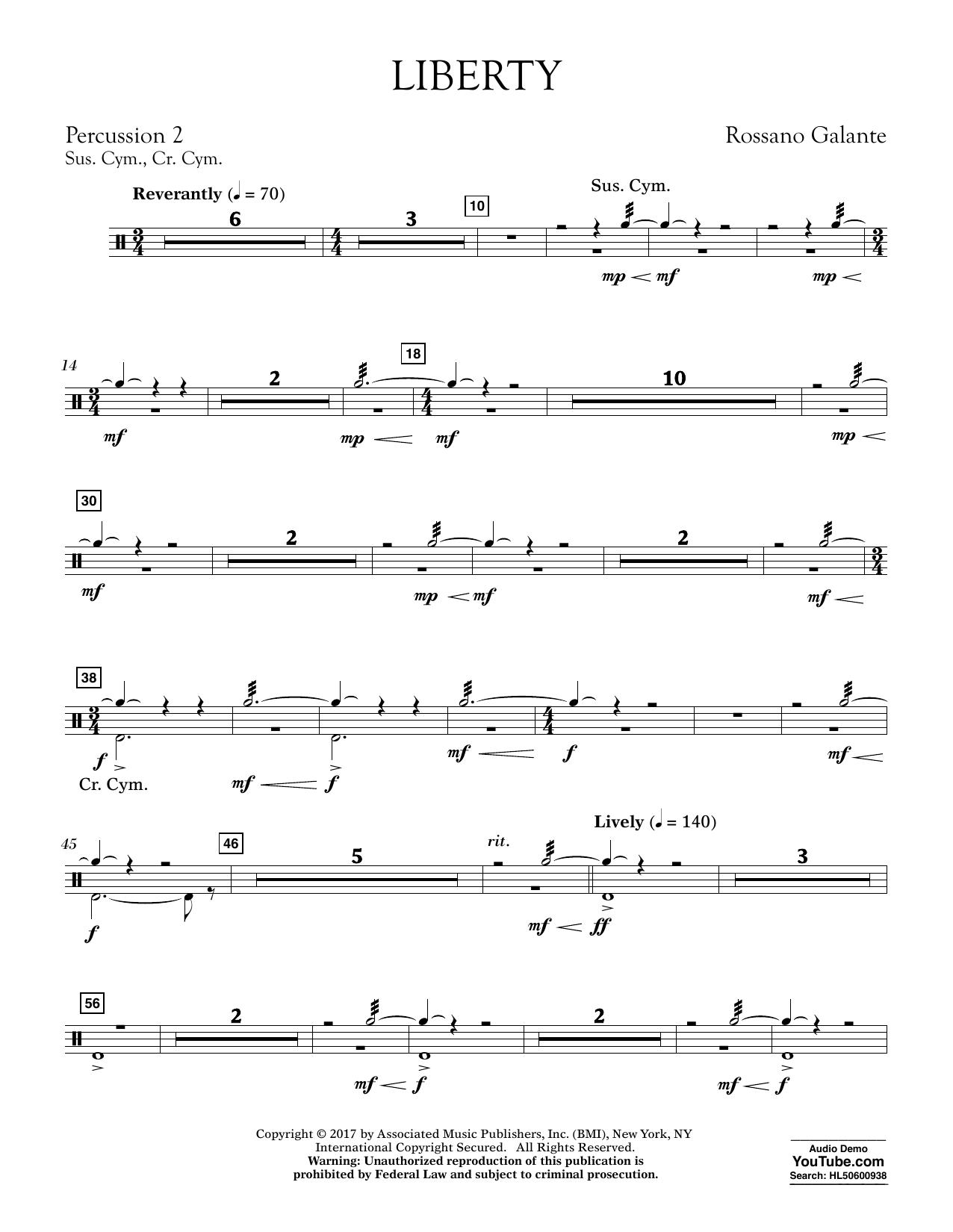 Liberty - Percussion 2 (Concert Band)