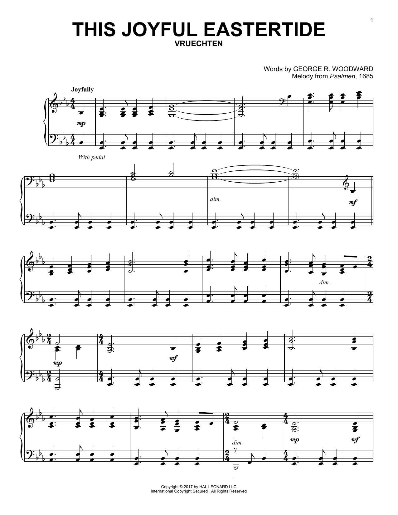 This Joyful Eastertide (Piano Solo)