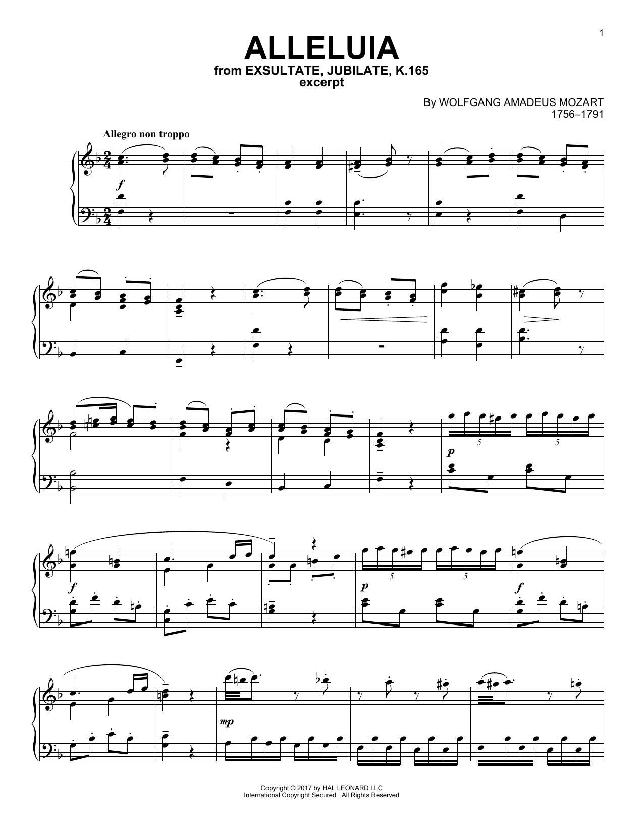 Alleluia (Piano Solo)