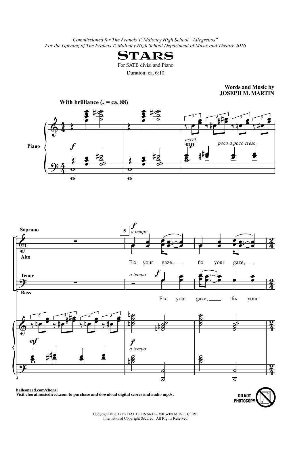 Stars Sheet Music