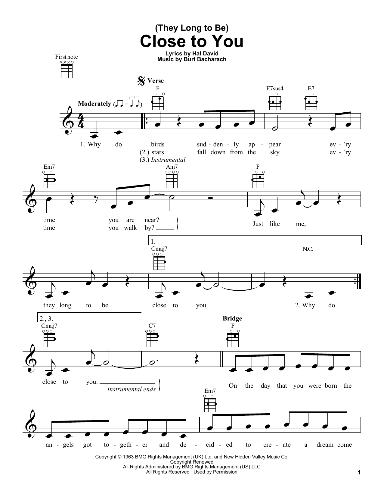 how to read tablature for ukulele