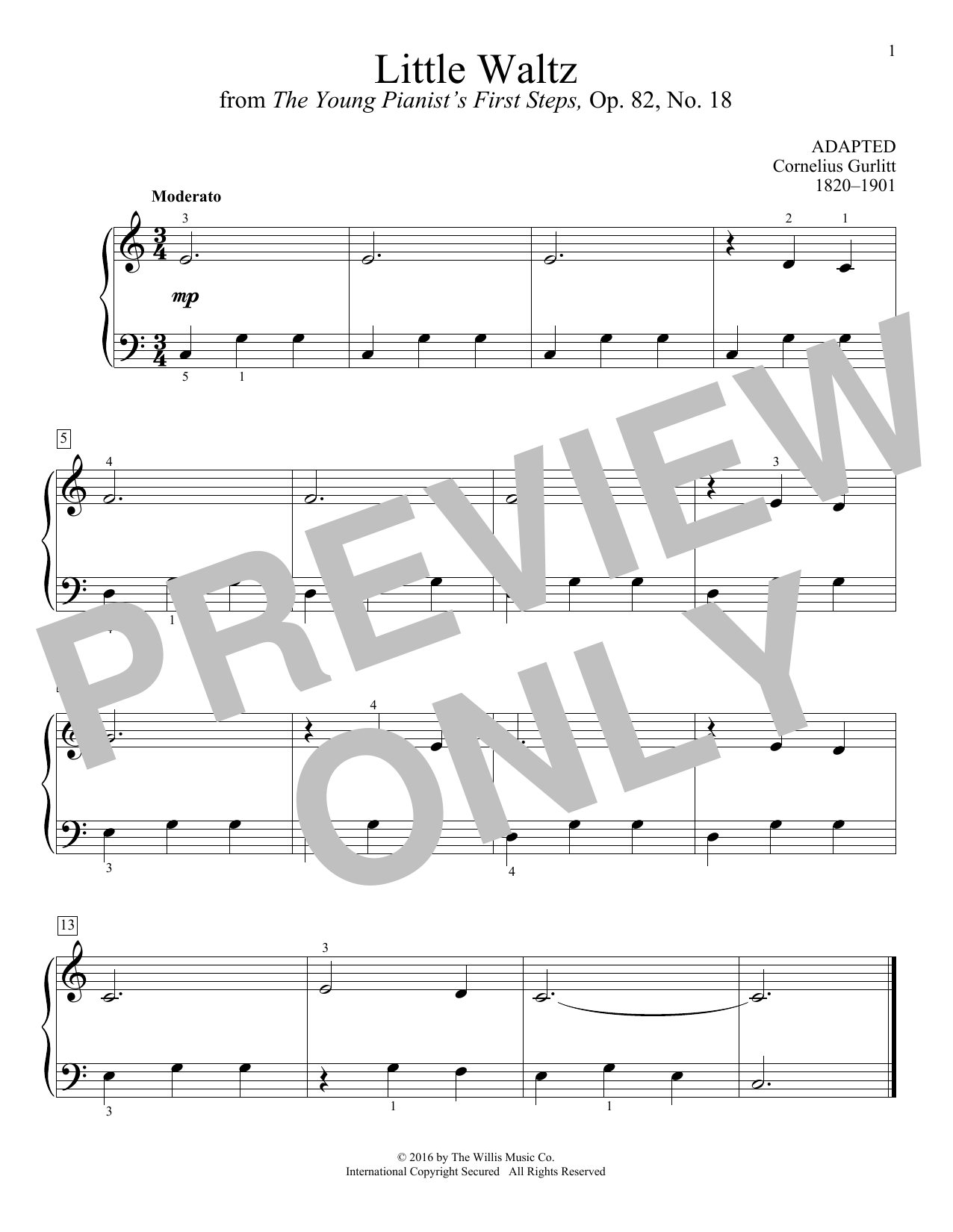 Little Waltz Sheet Music