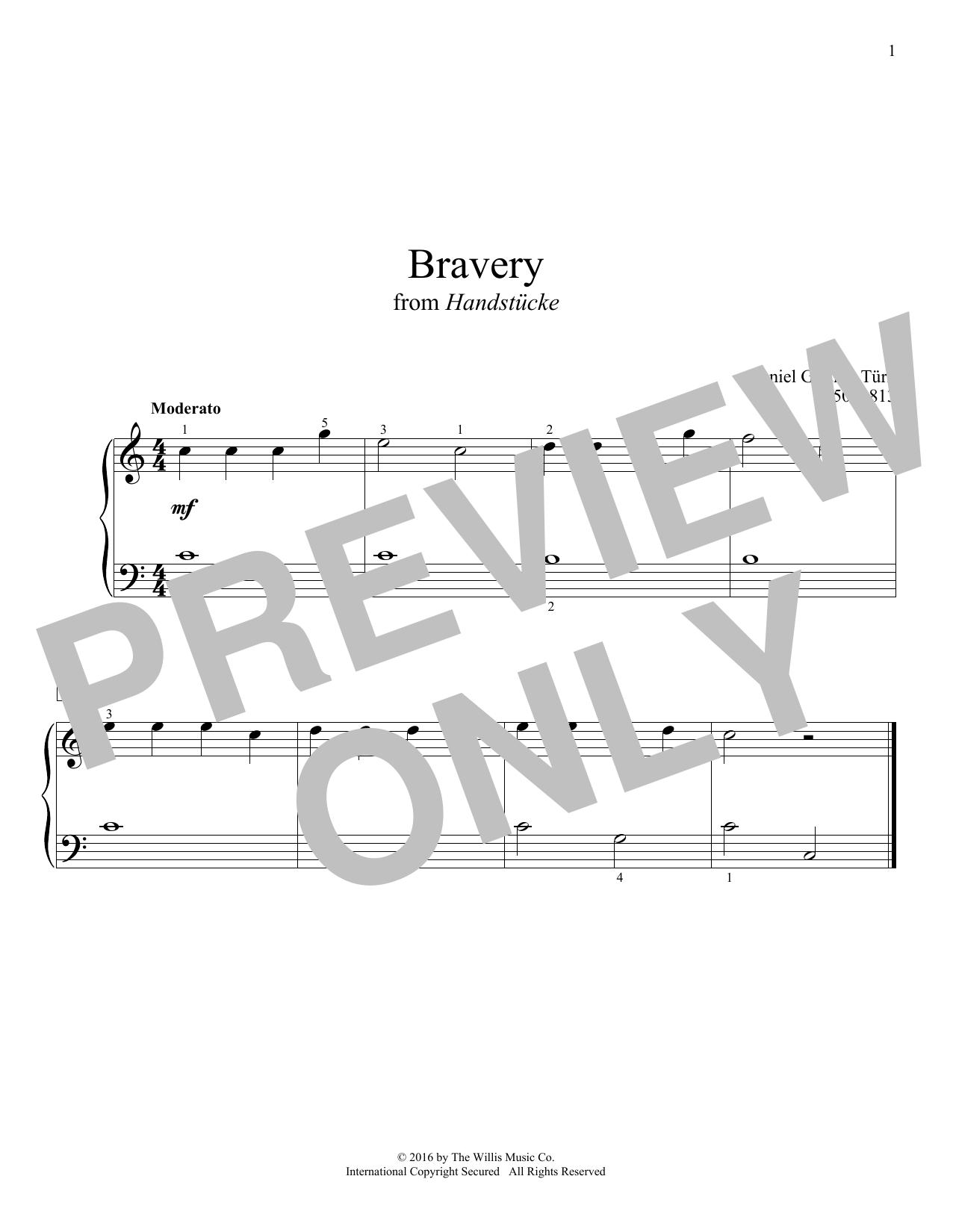 Bravery (Educational Piano)