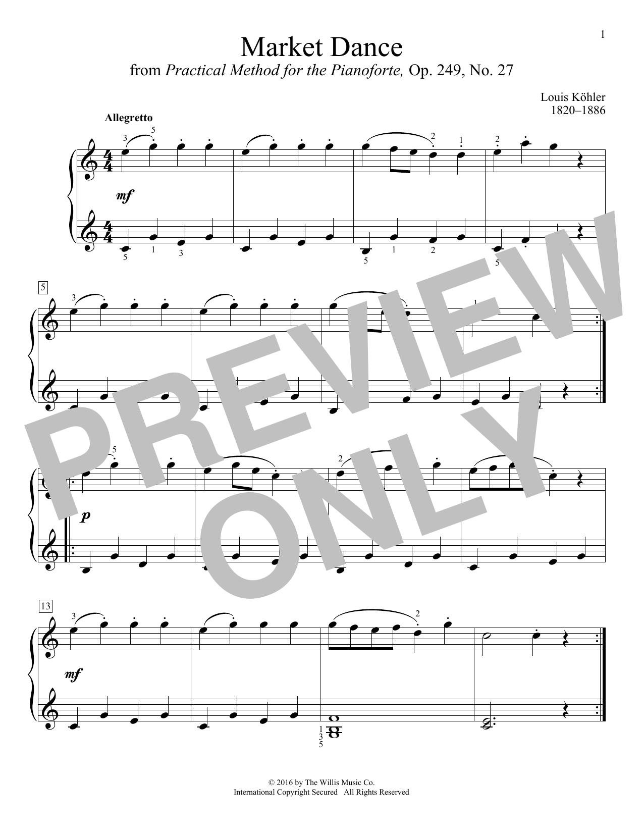 Market Dance (Educational Piano)