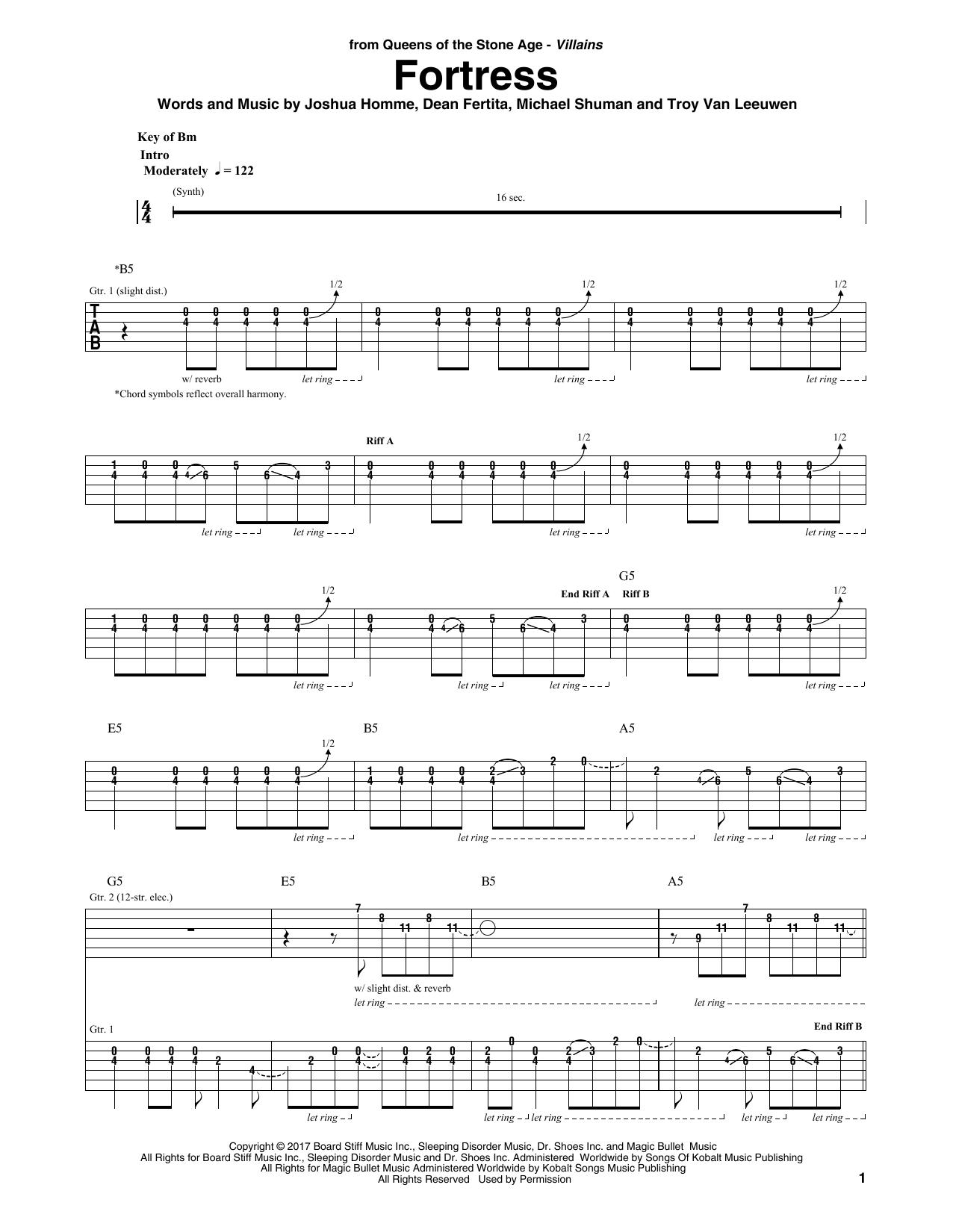Fortress Sheet Music