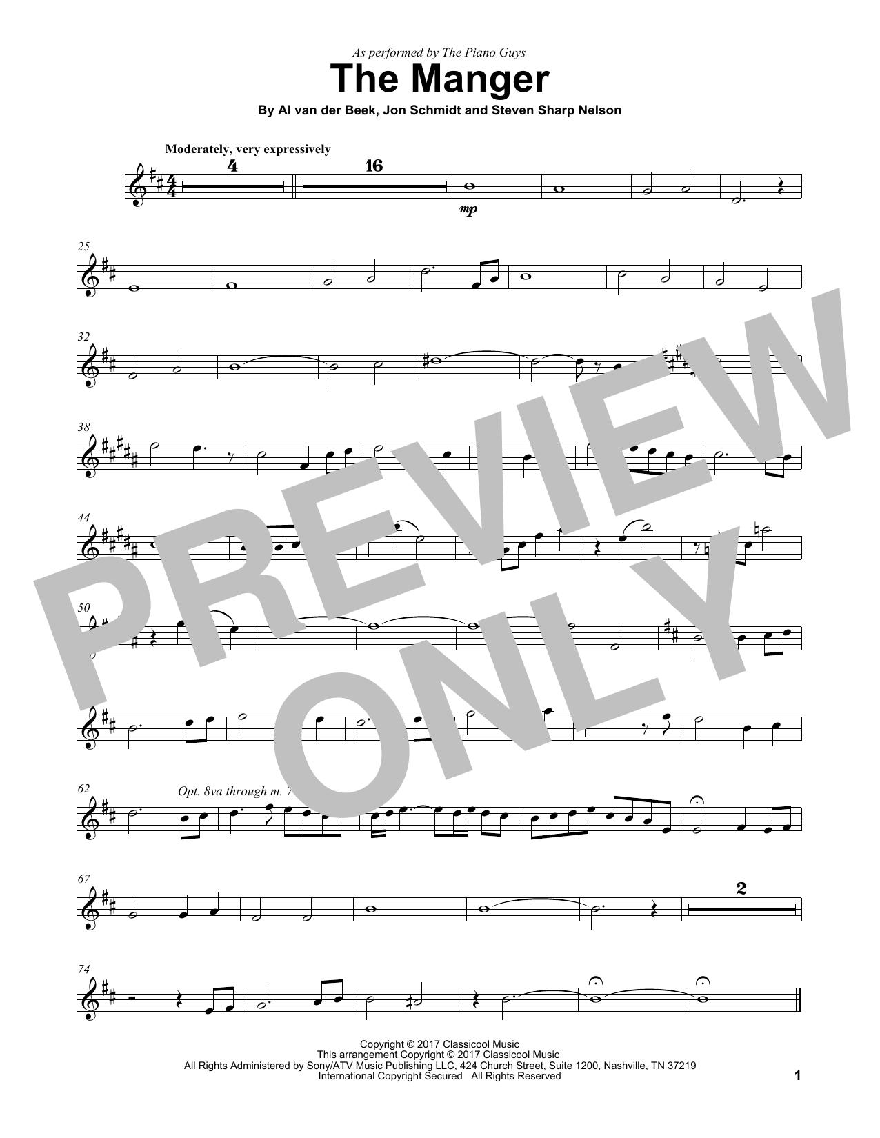 The Manger (Violin Solo)