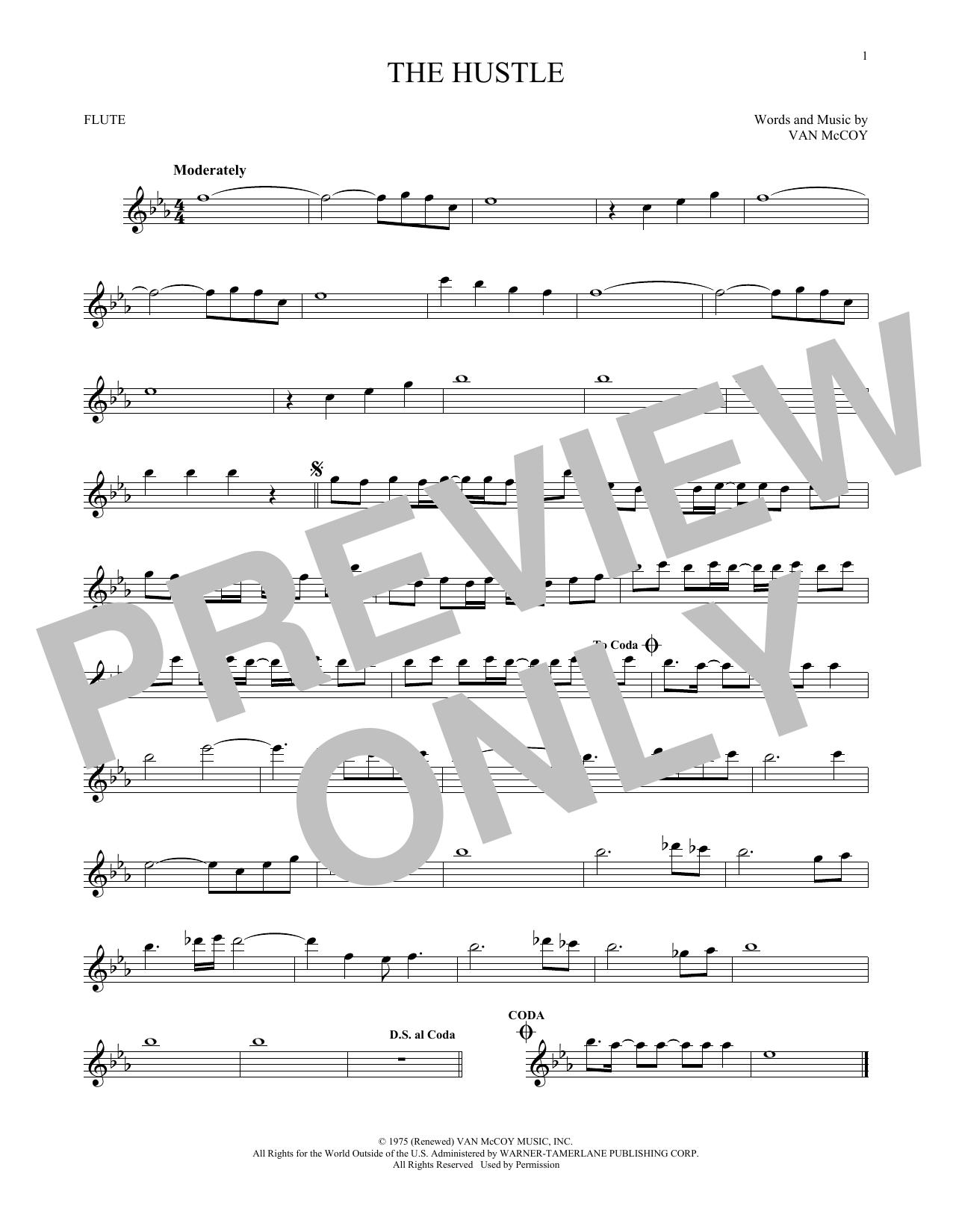 The Hustle (Flute Solo)