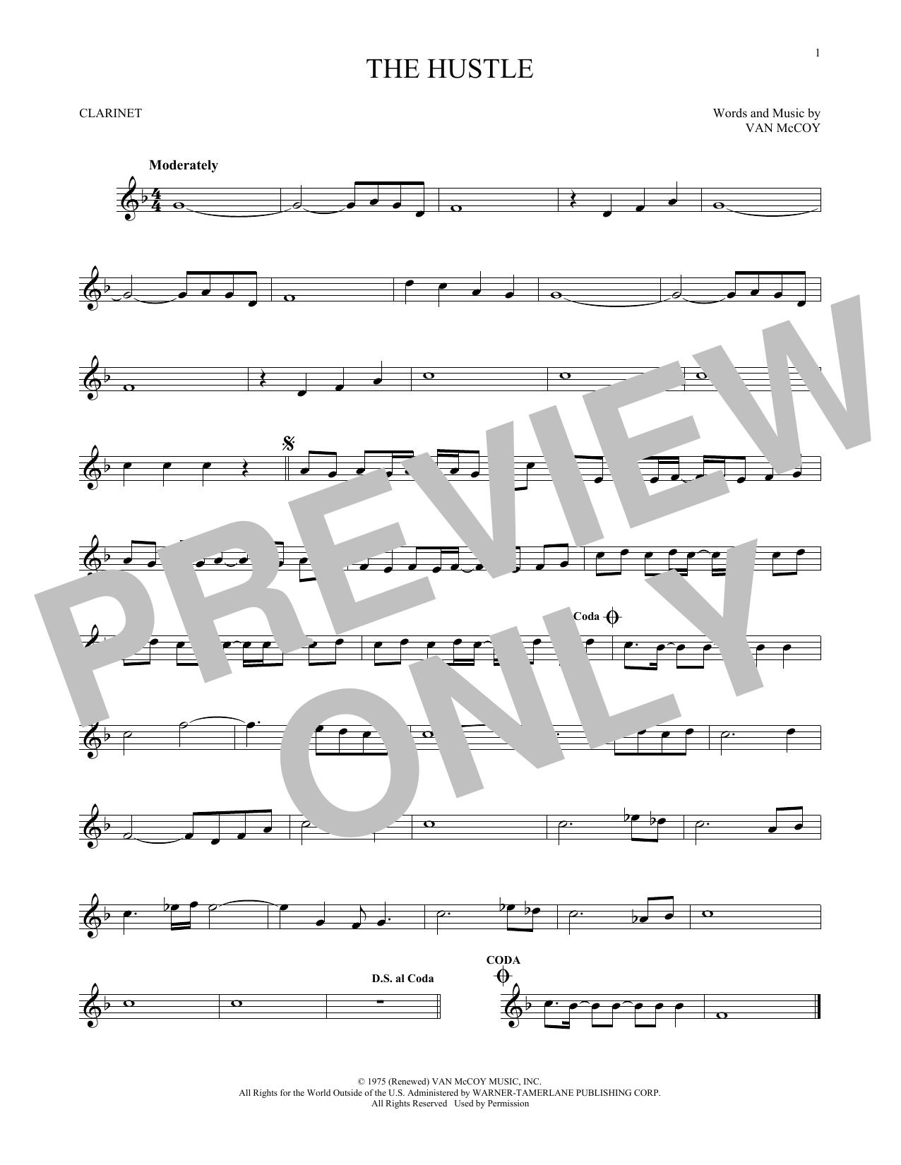 The Hustle (Clarinet Solo)