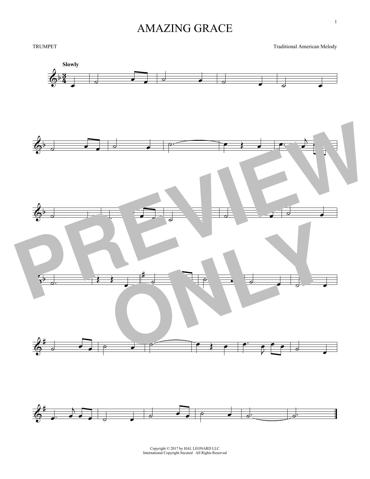 Amazing Grace (Trumpet Solo)
