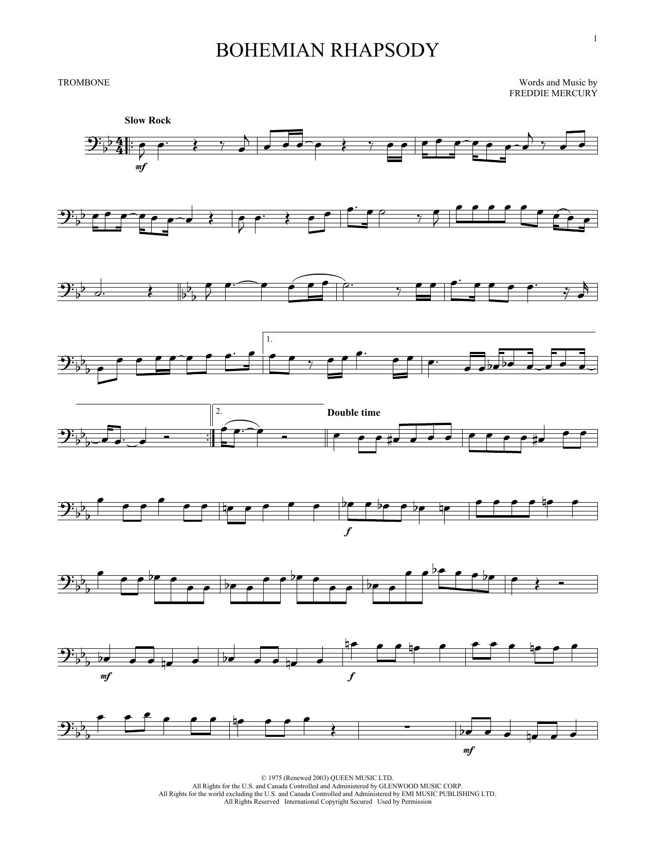 Bohemian Rhapsody (Trombone Solo)