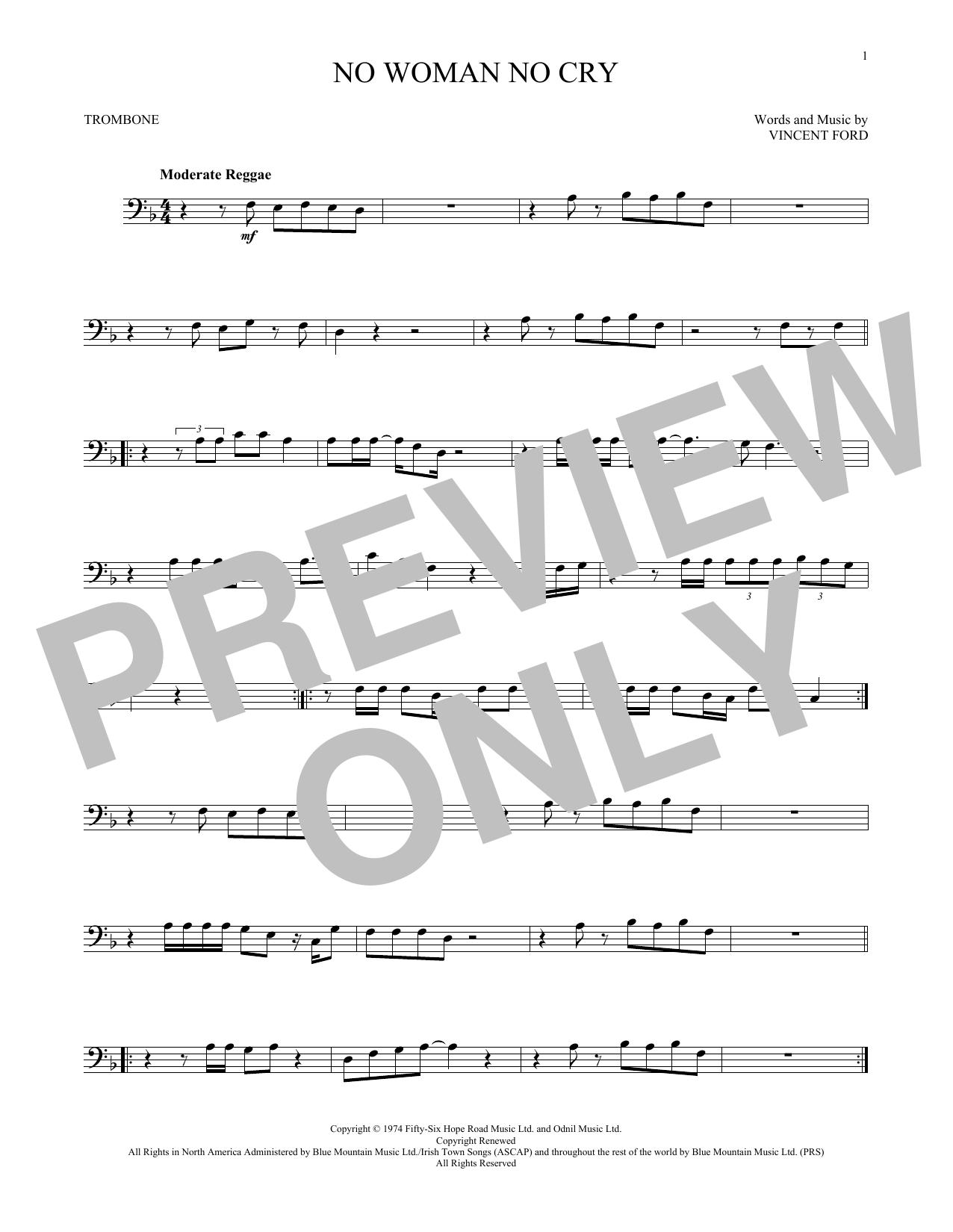 No Woman No Cry (Trombone Solo)