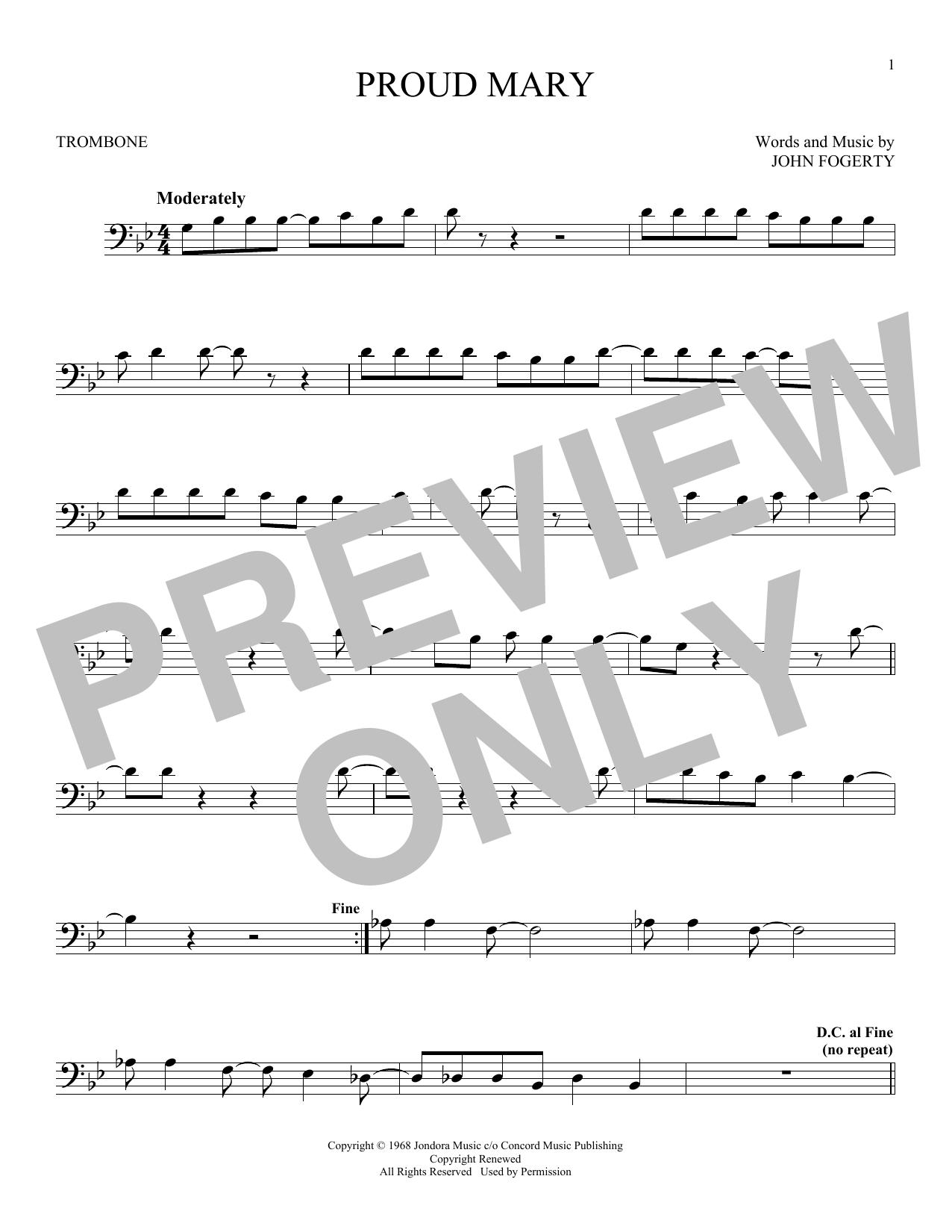 Proud Mary (Trombone Solo)
