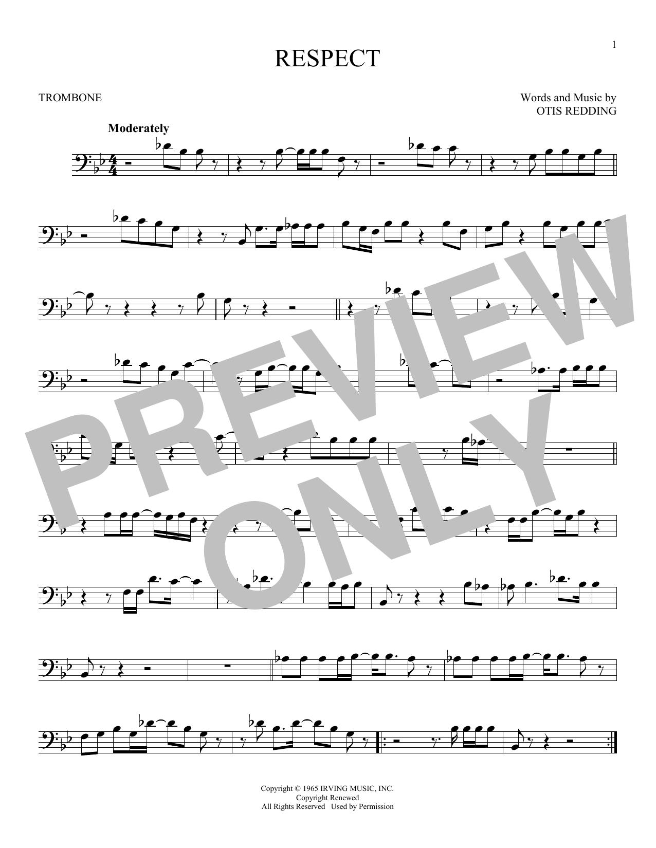 Respect (Trombone Solo)