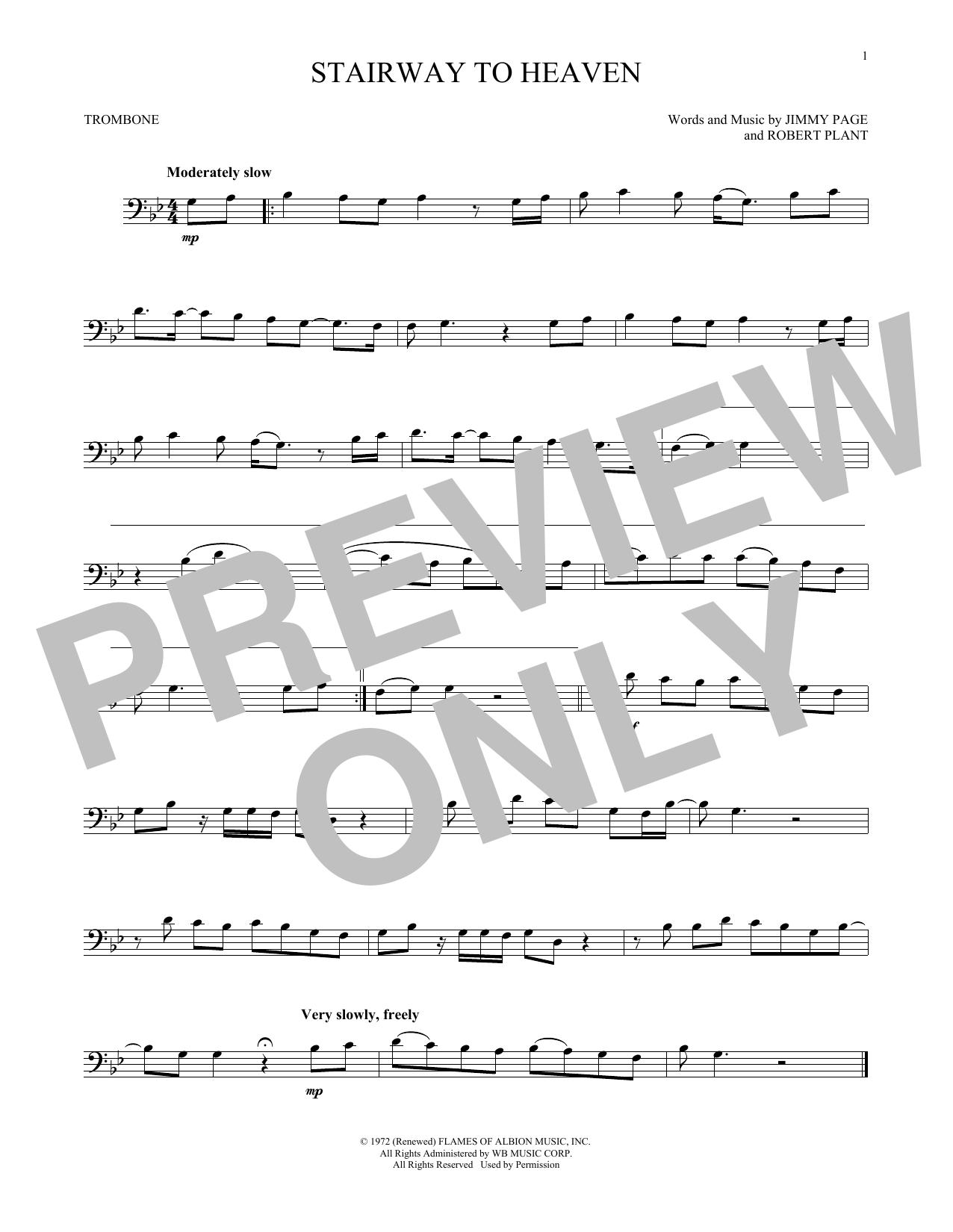 Stairway To Heaven (Trombone Solo)