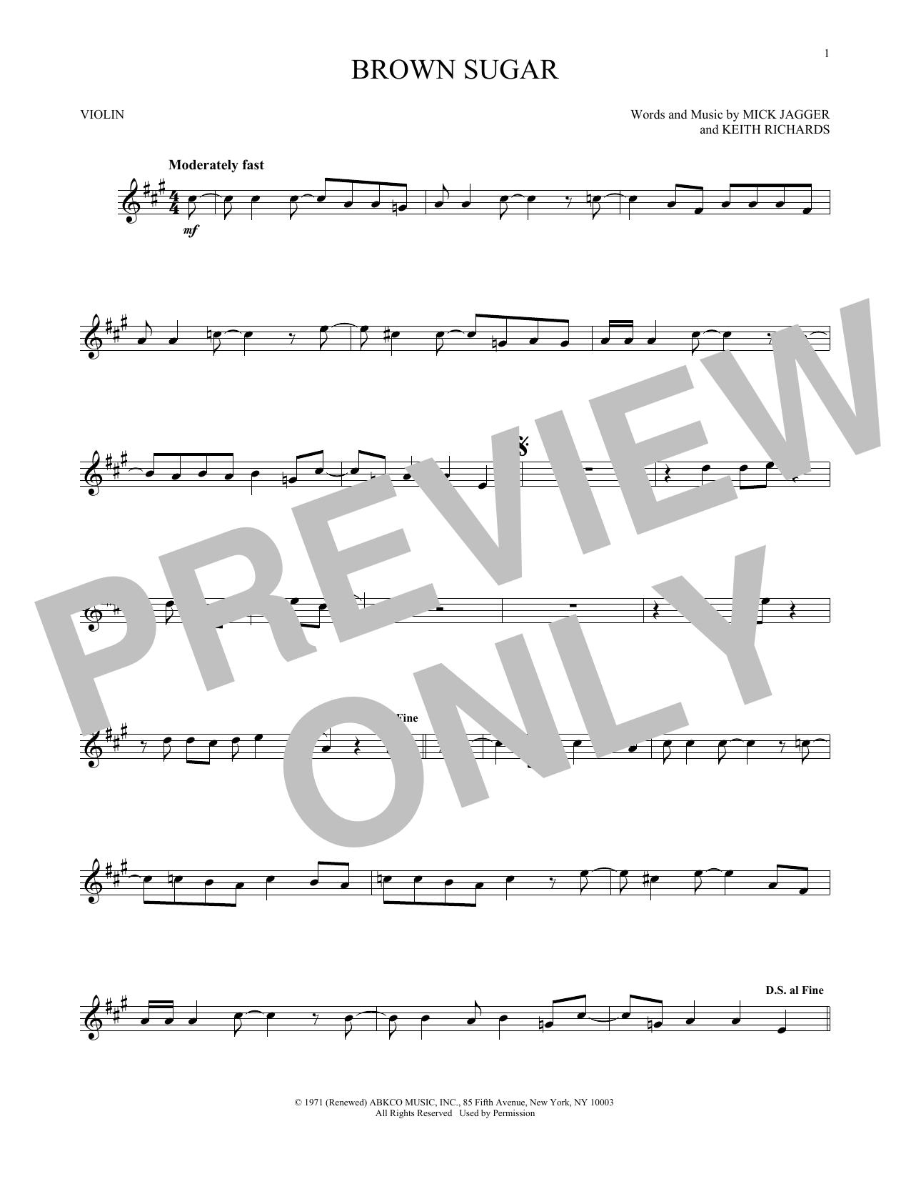 Brown Sugar (Violin Solo)