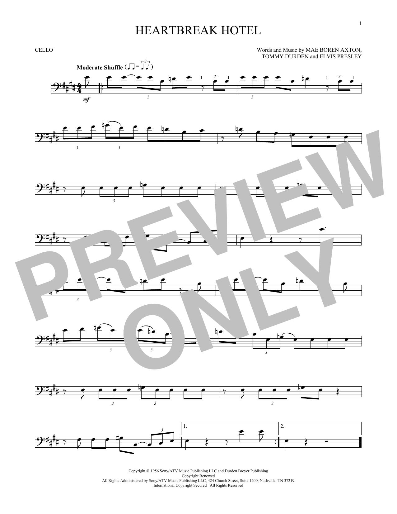 Cello at Stanton's Sheet Music