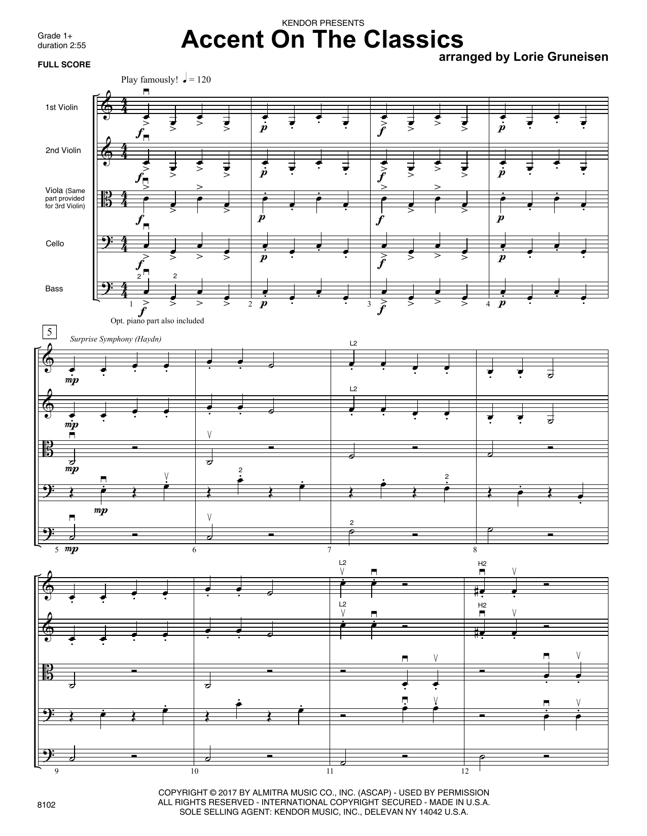 Accent On The Classics - Orchestra Music Download