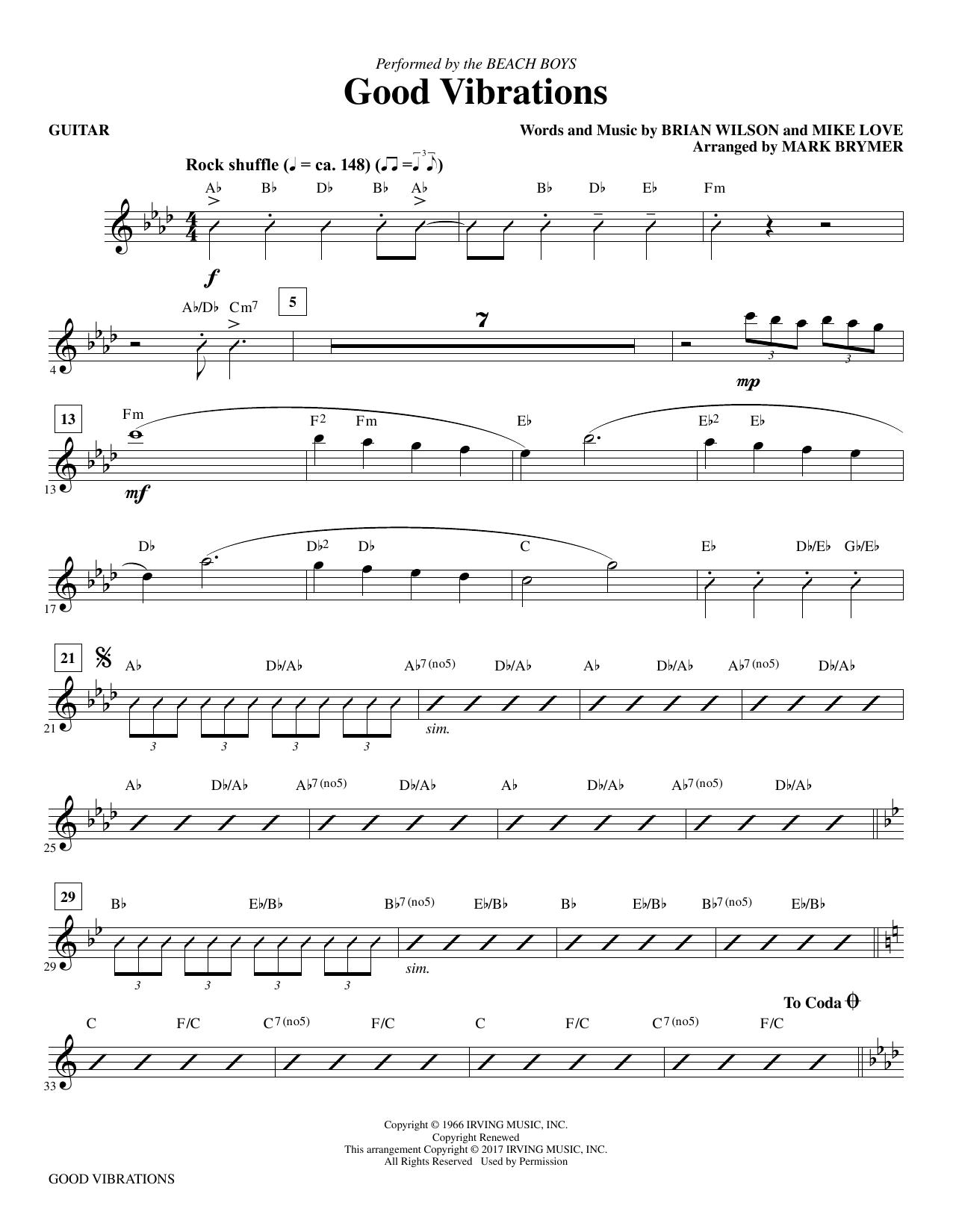 Good Vibrations - Guitar Sheet Music