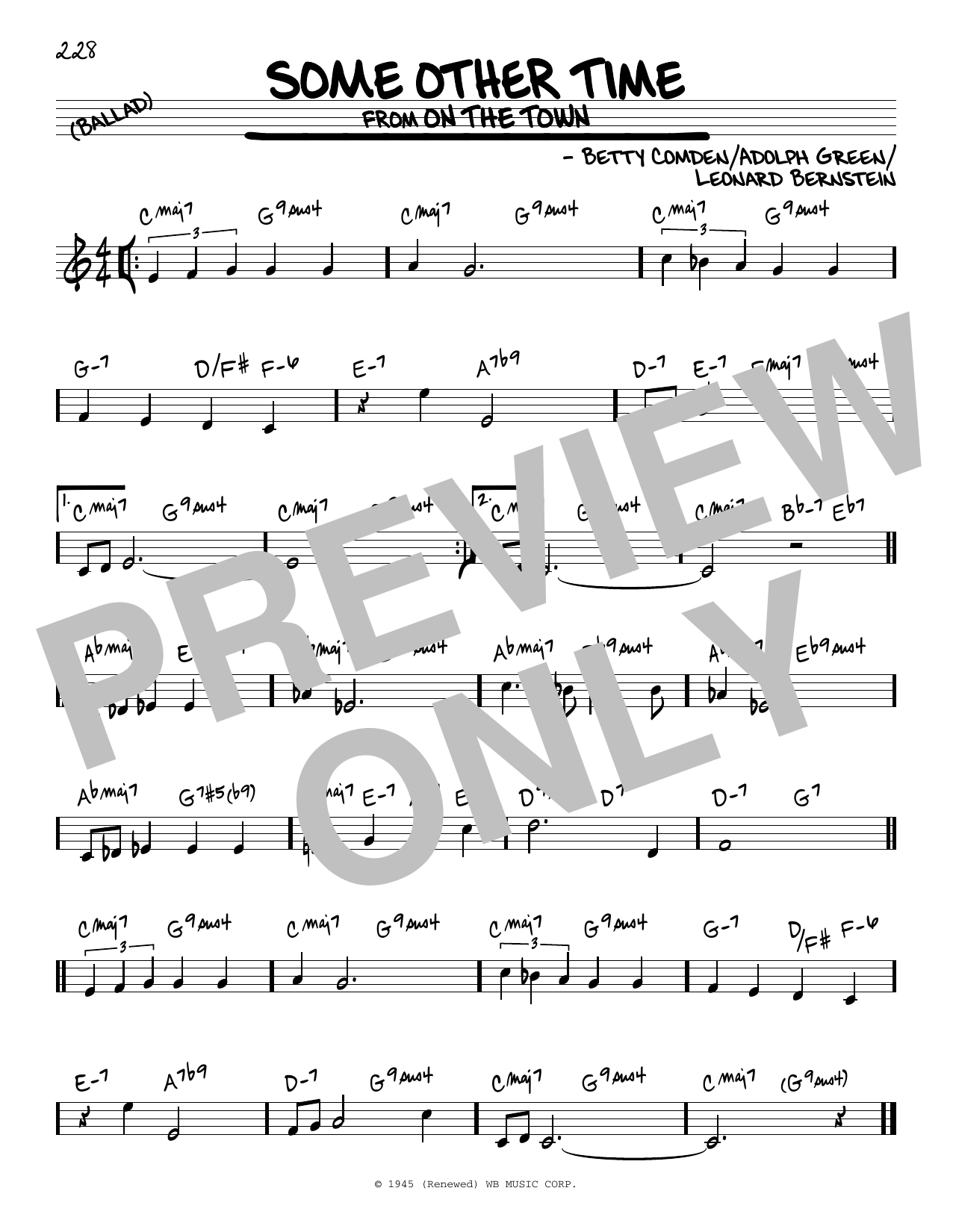 Some Other Time Sheet Music
