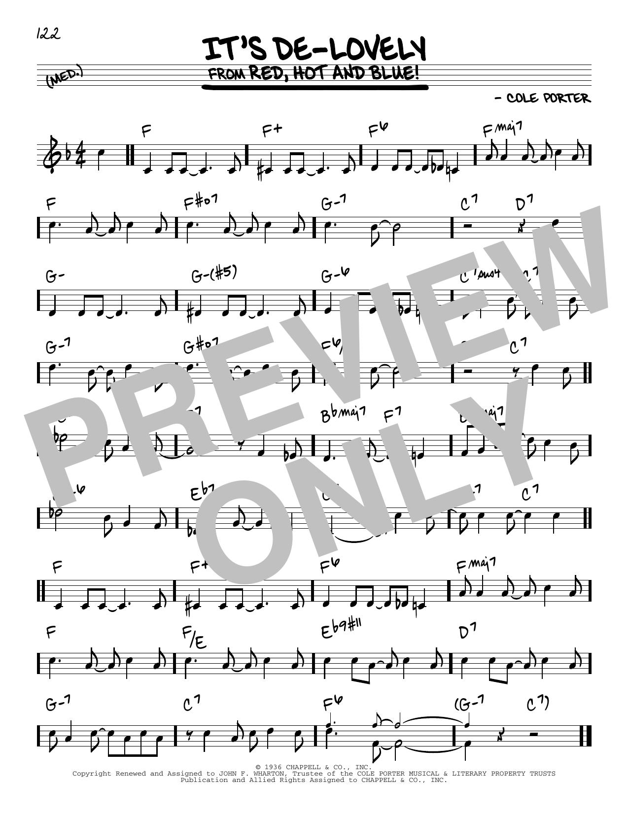 It's De-Lovely Sheet Music
