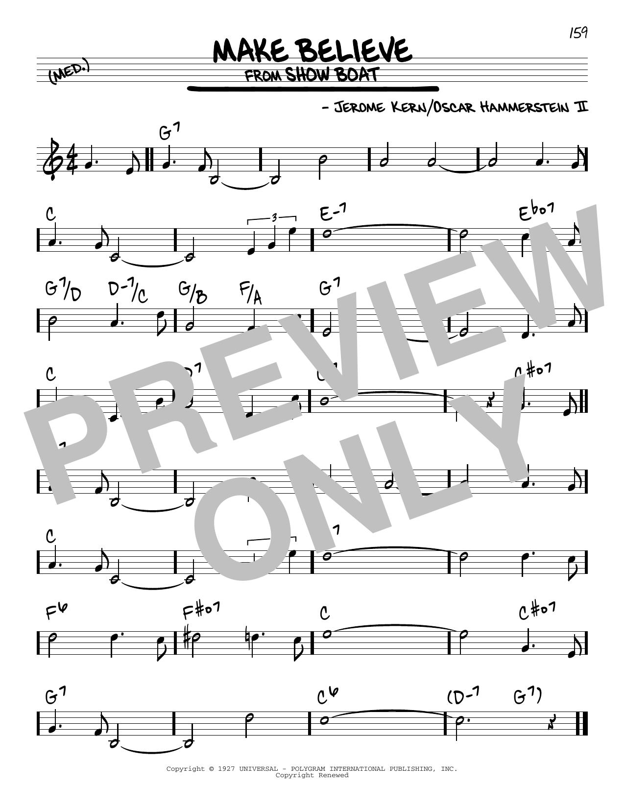 Make Believe Sheet Music