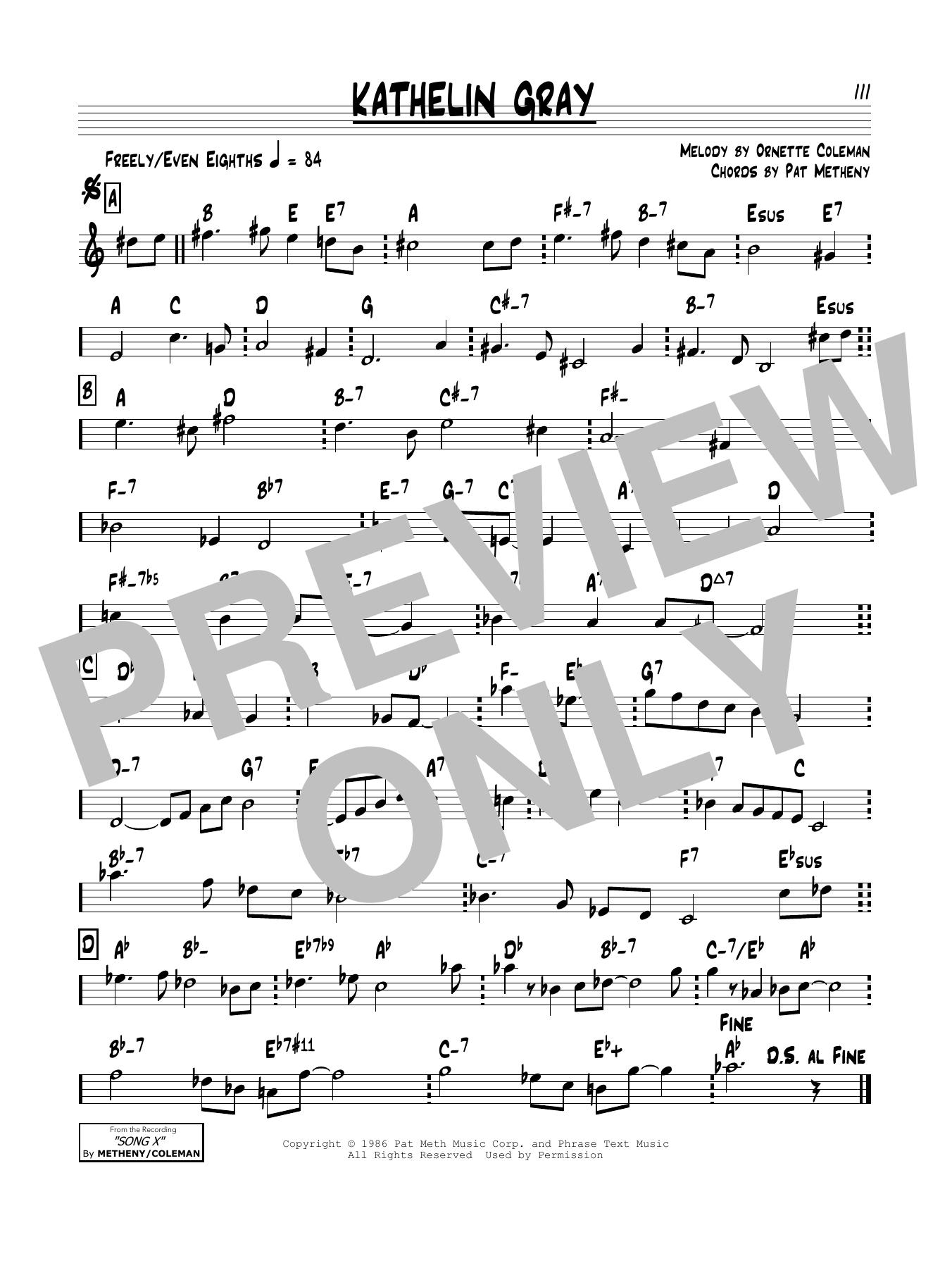 Kathelin Gray Sheet Music