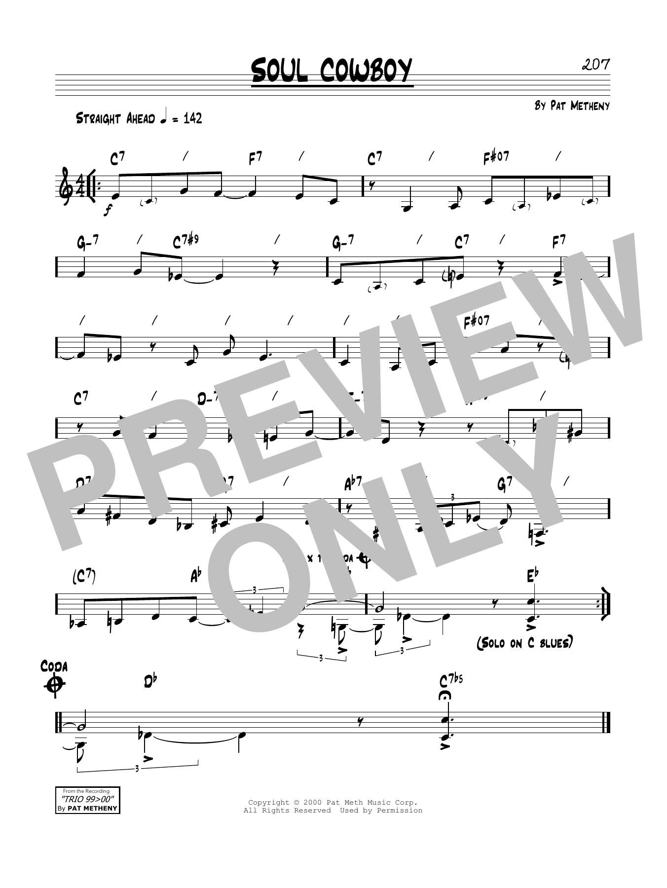 Soul Cowboy Sheet Music
